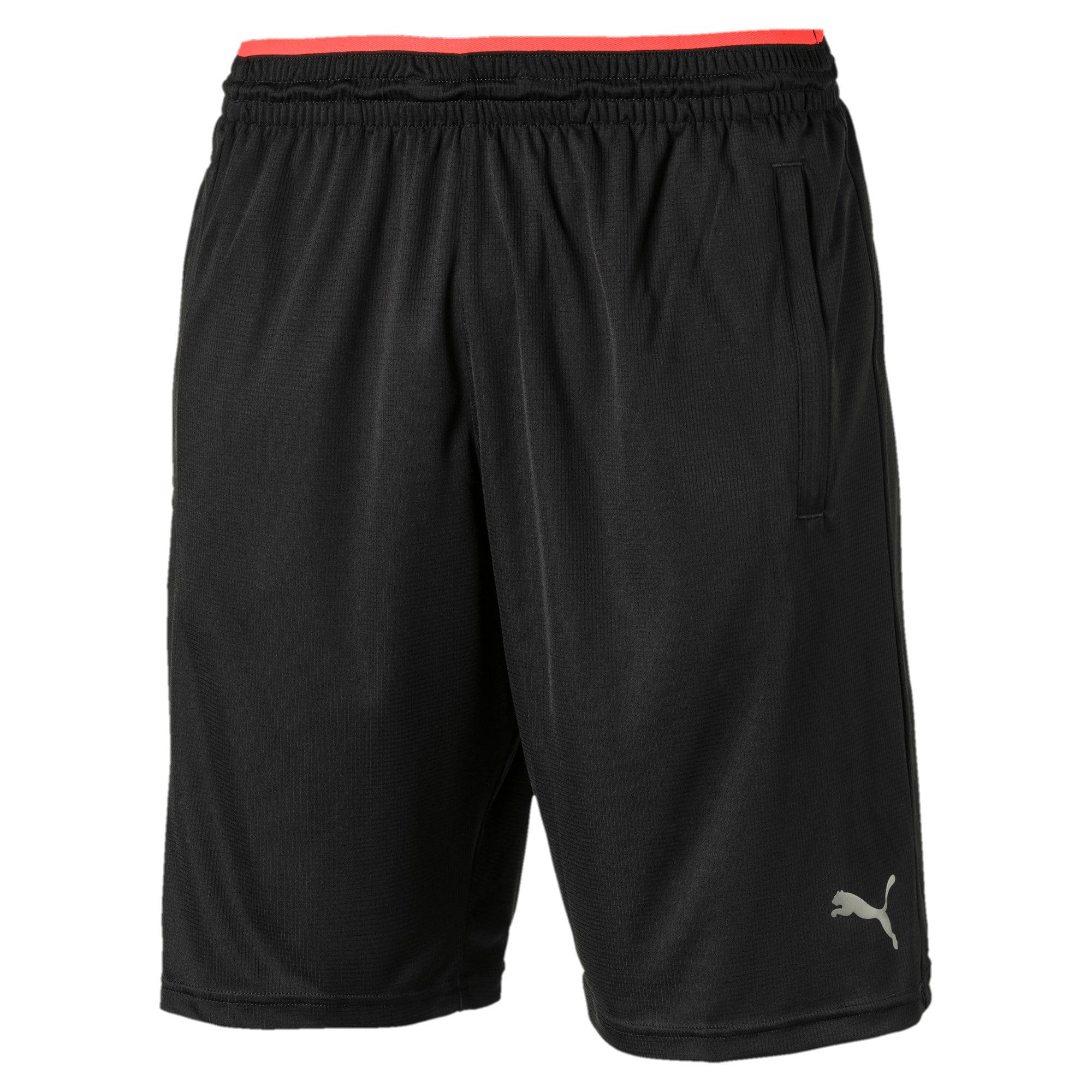 Thumbnail 4 of Collective Men's Knit Shorts, Puma Black-Nrgy Red, medium