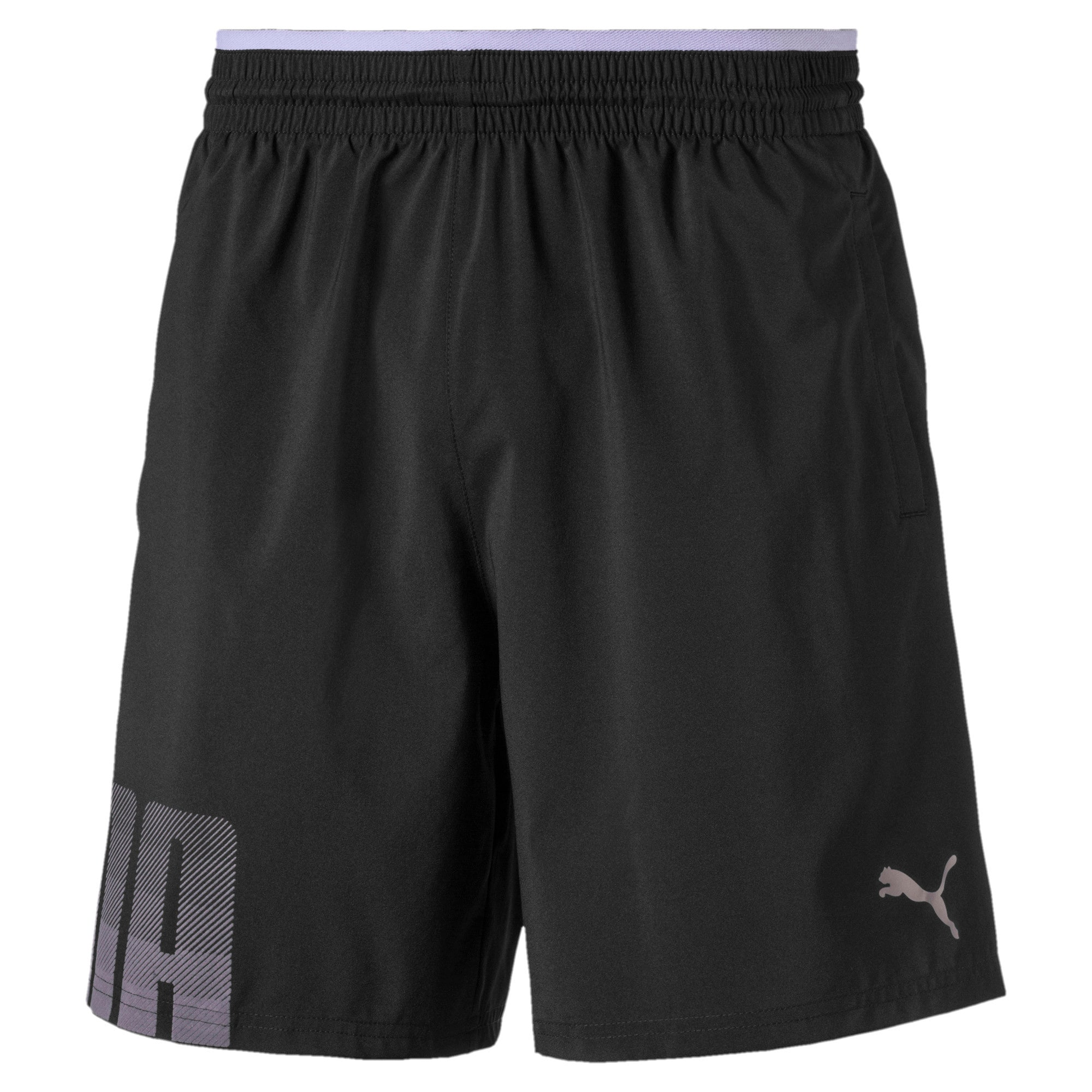 Miniatura 4 de Shorts de punto Collective para hombre, Puma Black, mediano