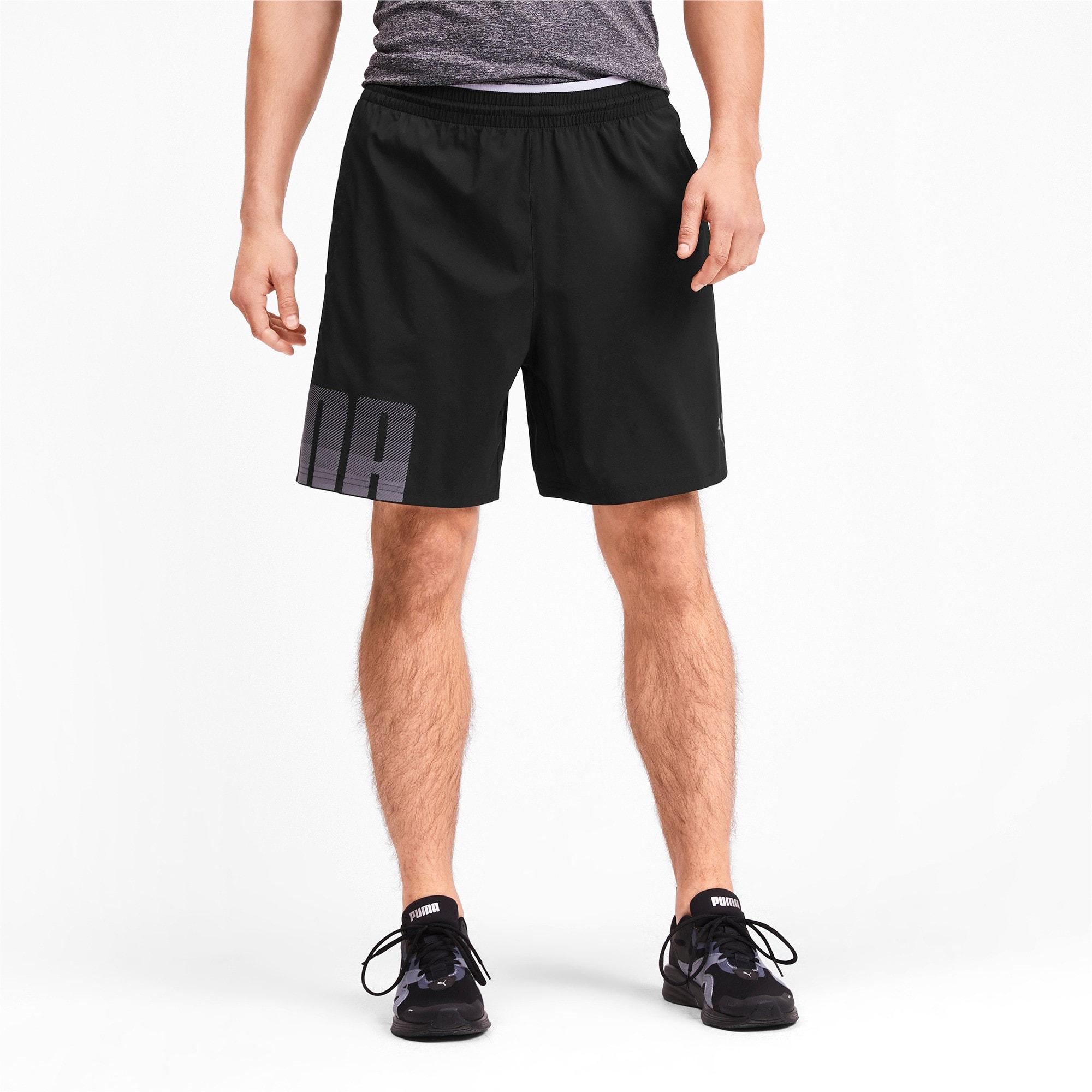 Miniatura 1 de Shorts de punto Collective para hombre, Puma Black, mediano