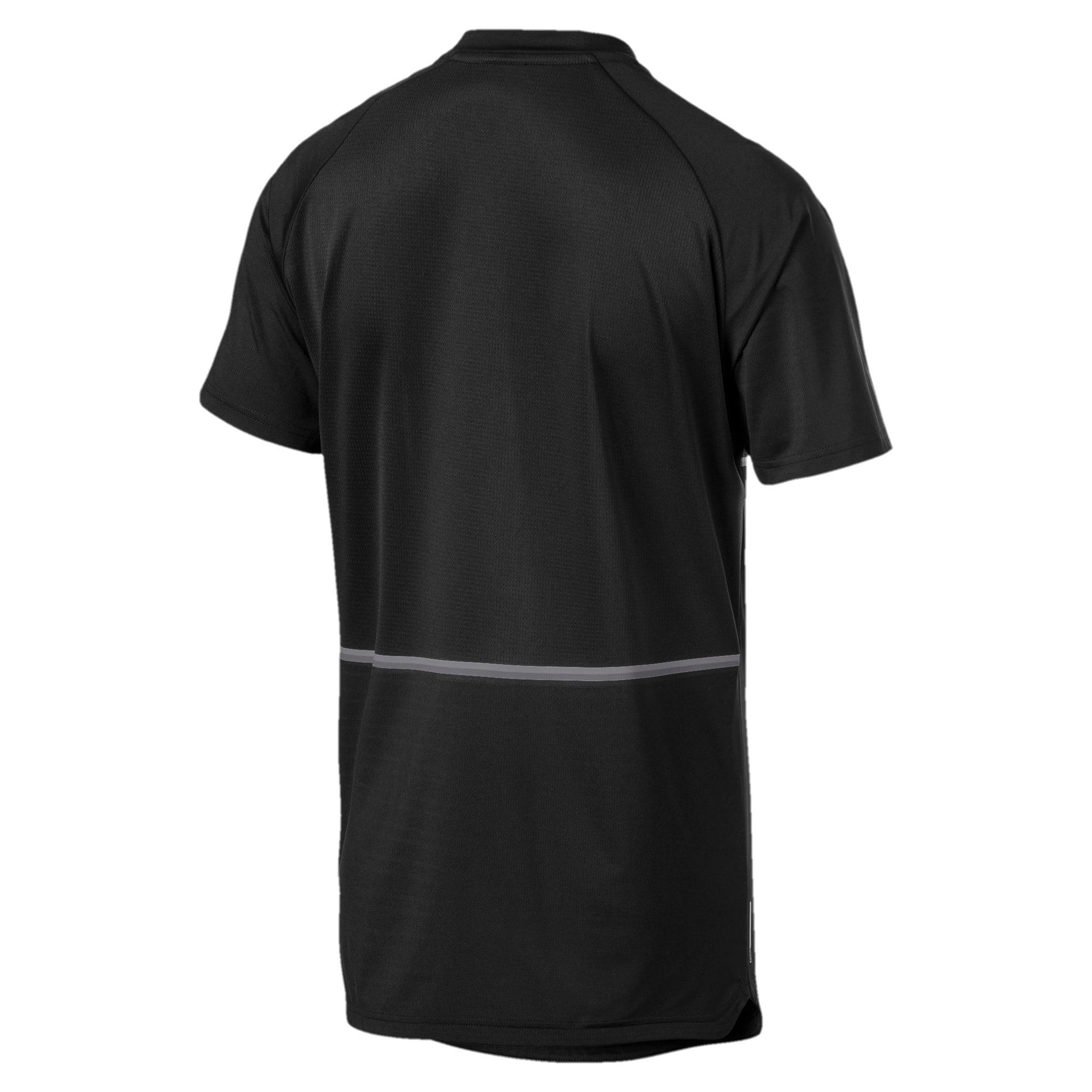 Miniatura 5 de Camiseta Power BND para hombre, Puma Black, mediano