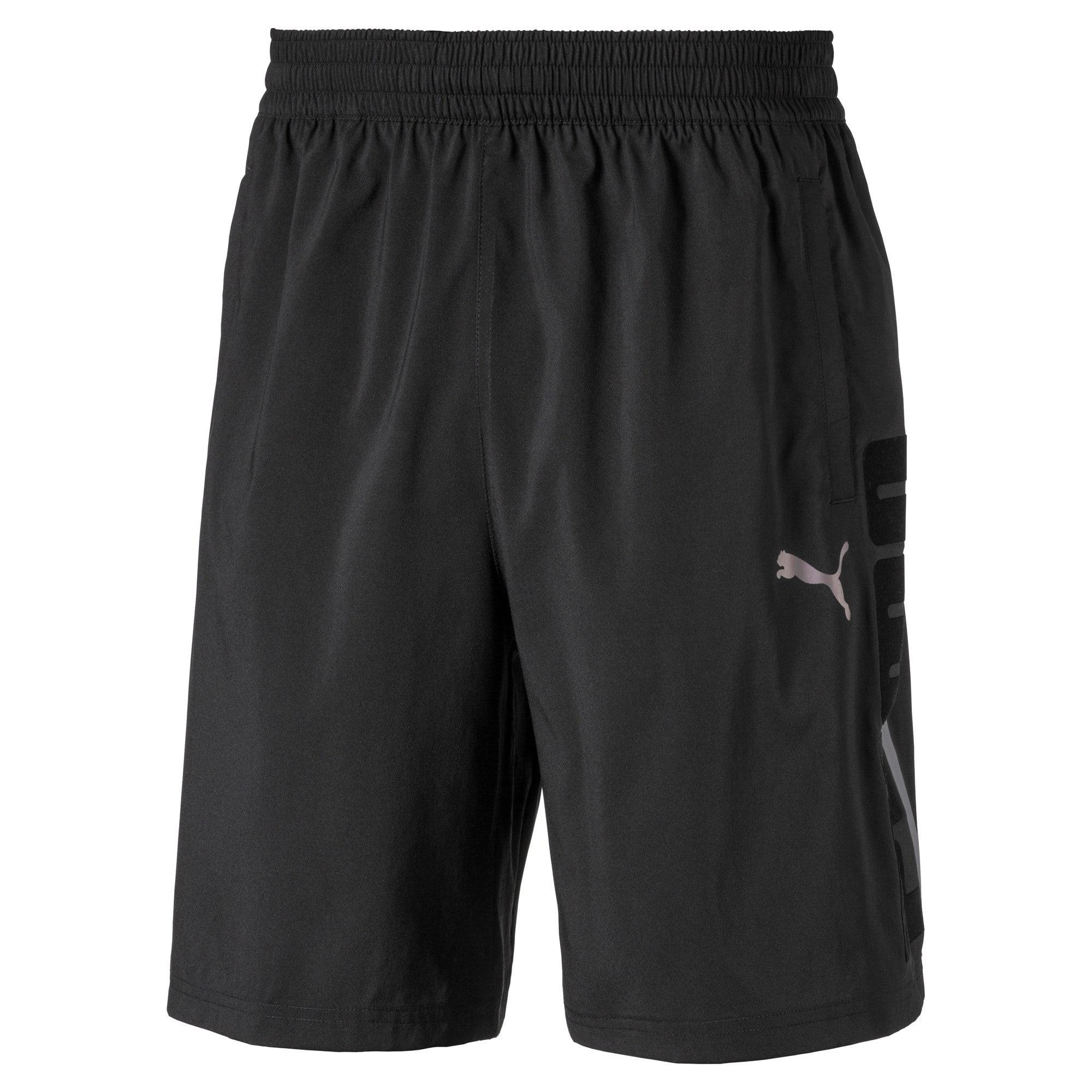 Thumbnail 4 of Power BND Men's Shorts, Puma Black, medium