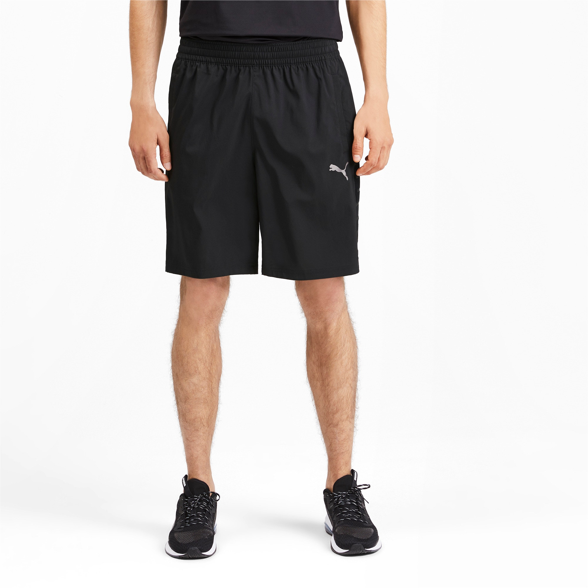 Thumbnail 1 of Power BND Men's Shorts, Puma Black, medium