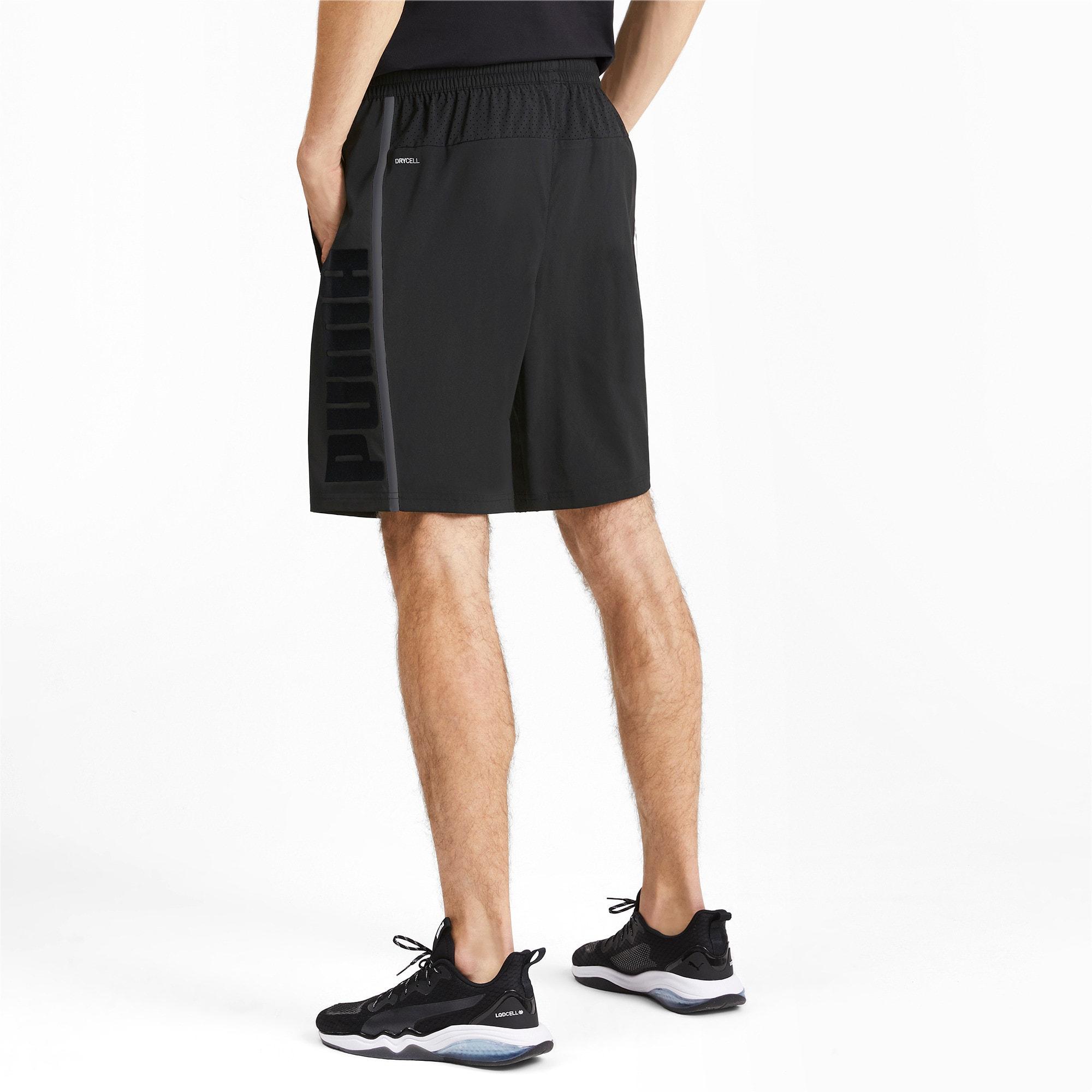 Thumbnail 2 of Power BND Men's Shorts, Puma Black, medium