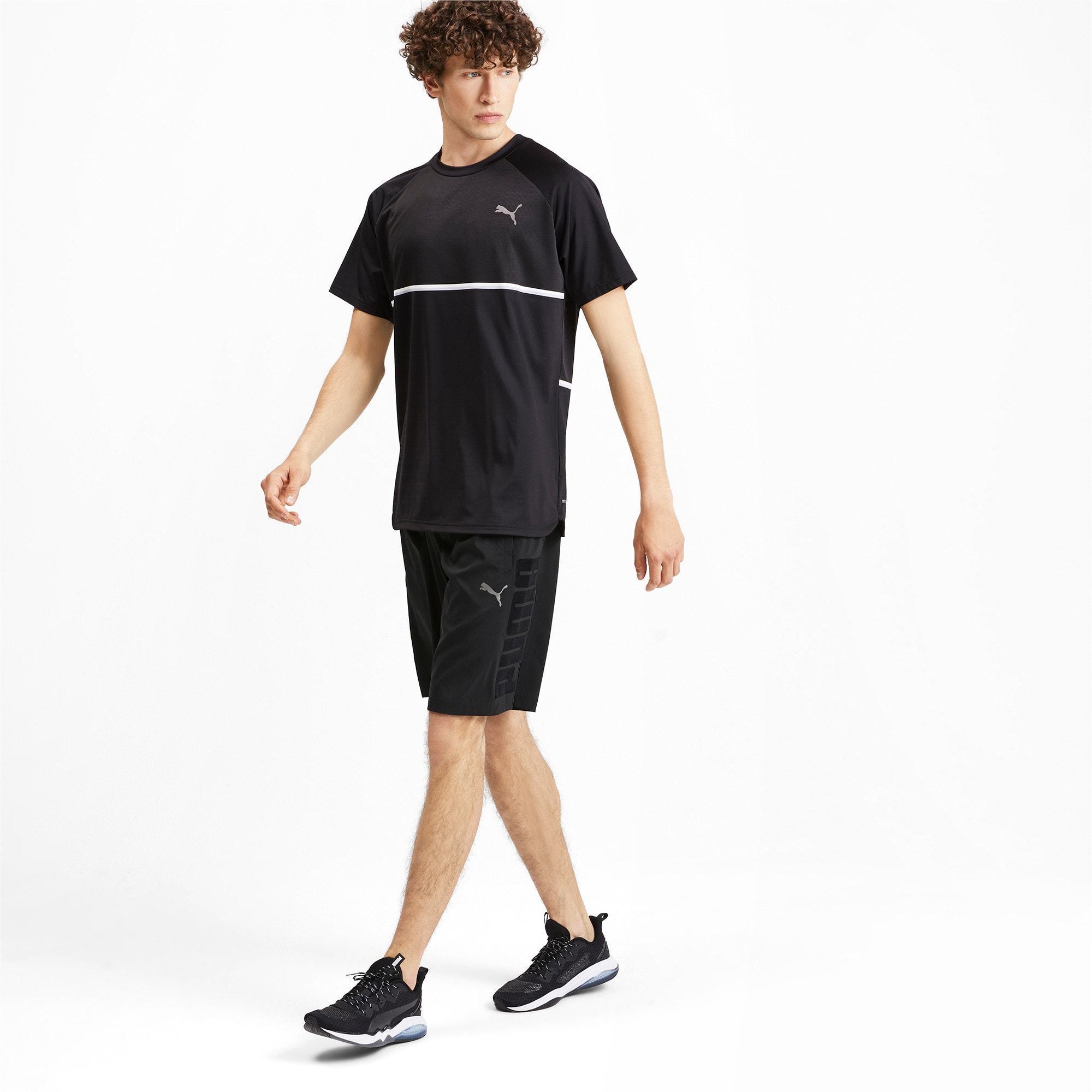 Thumbnail 3 of Power BND Men's Shorts, Puma Black, medium