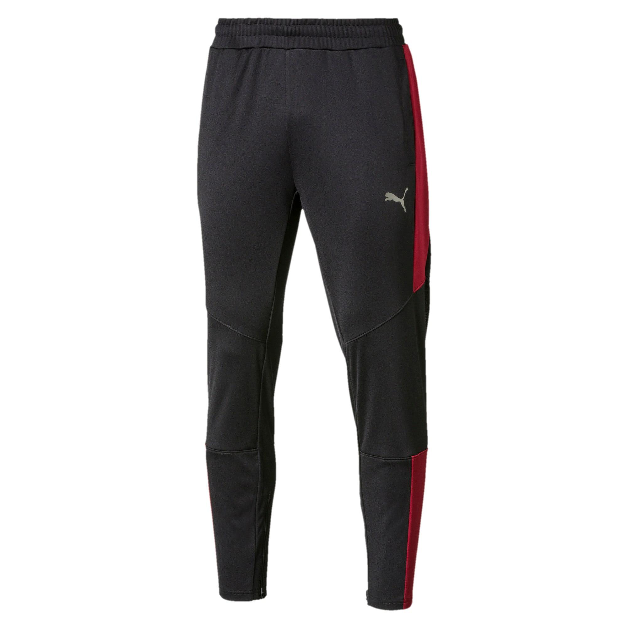 Thumbnail 1 of PUMA Blaster Men's Pants, Puma Black-Rhubarb, medium
