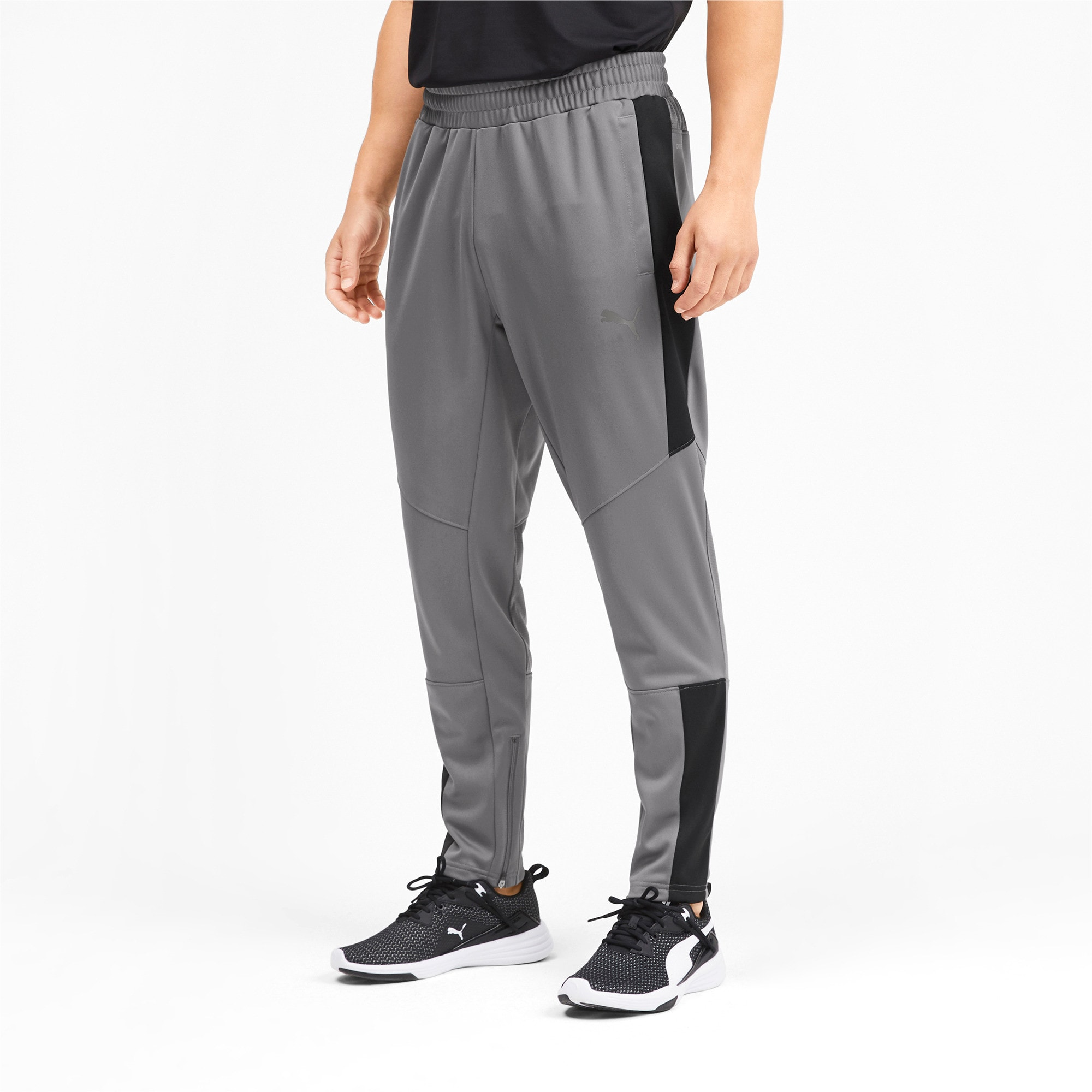 Thumbnail 2 of PUMA Blaster Men's Pants, CASTLEROCK-Puma Black, medium