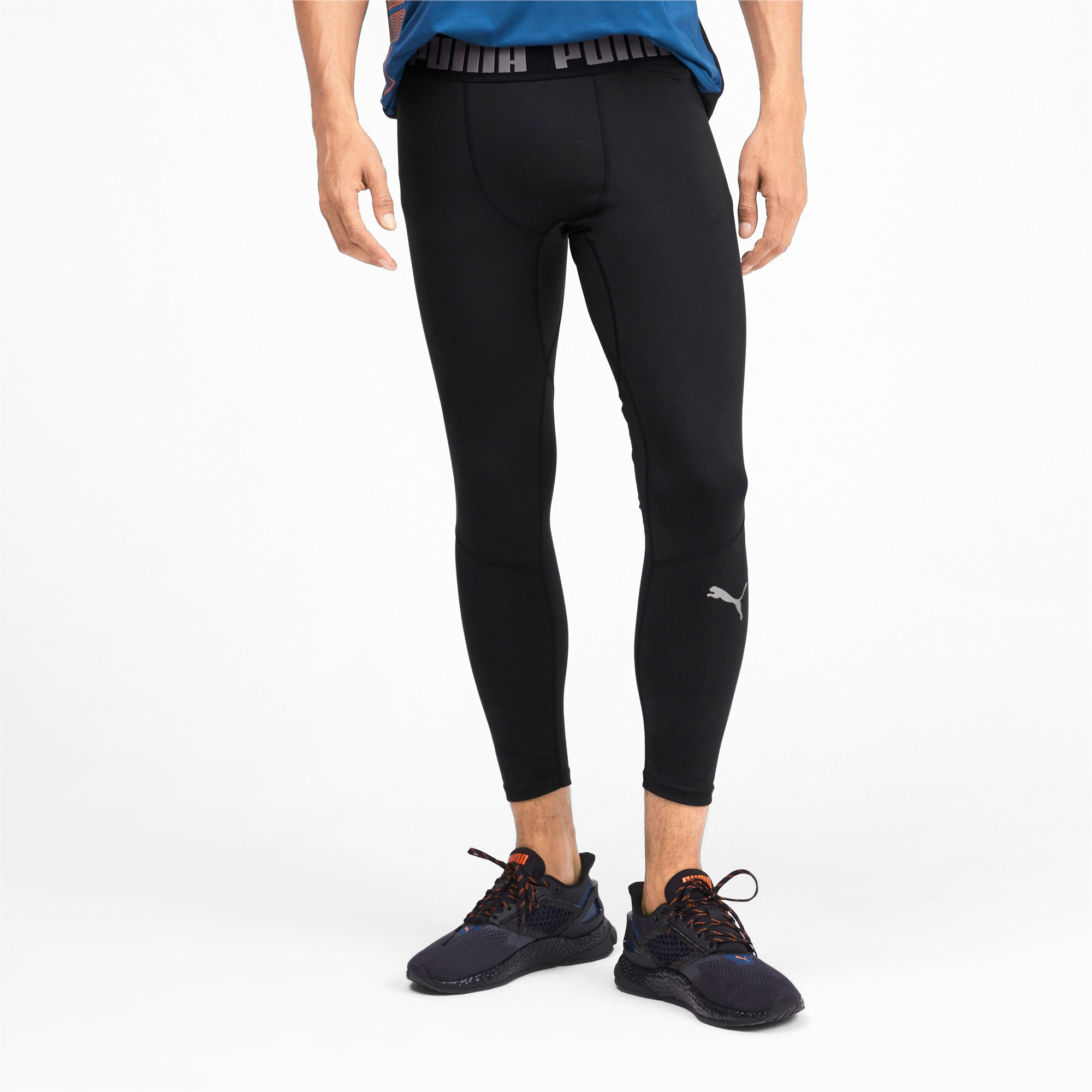 Thumbnail 1 of BND 7/8 Men's Training Tights, Puma Black, medium