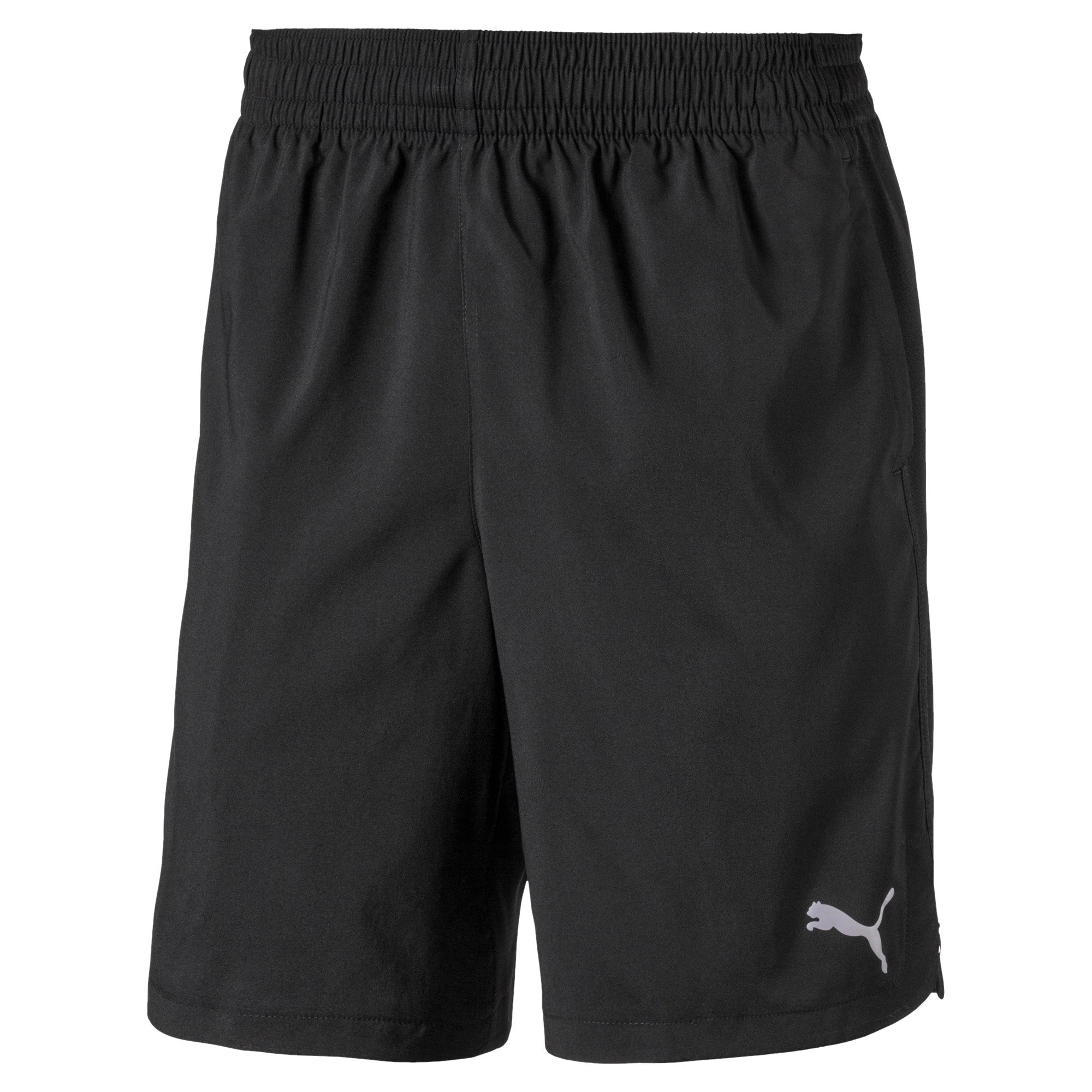 Thumbnail 4 of Woven Men's Training Shorts, Puma Black, medium