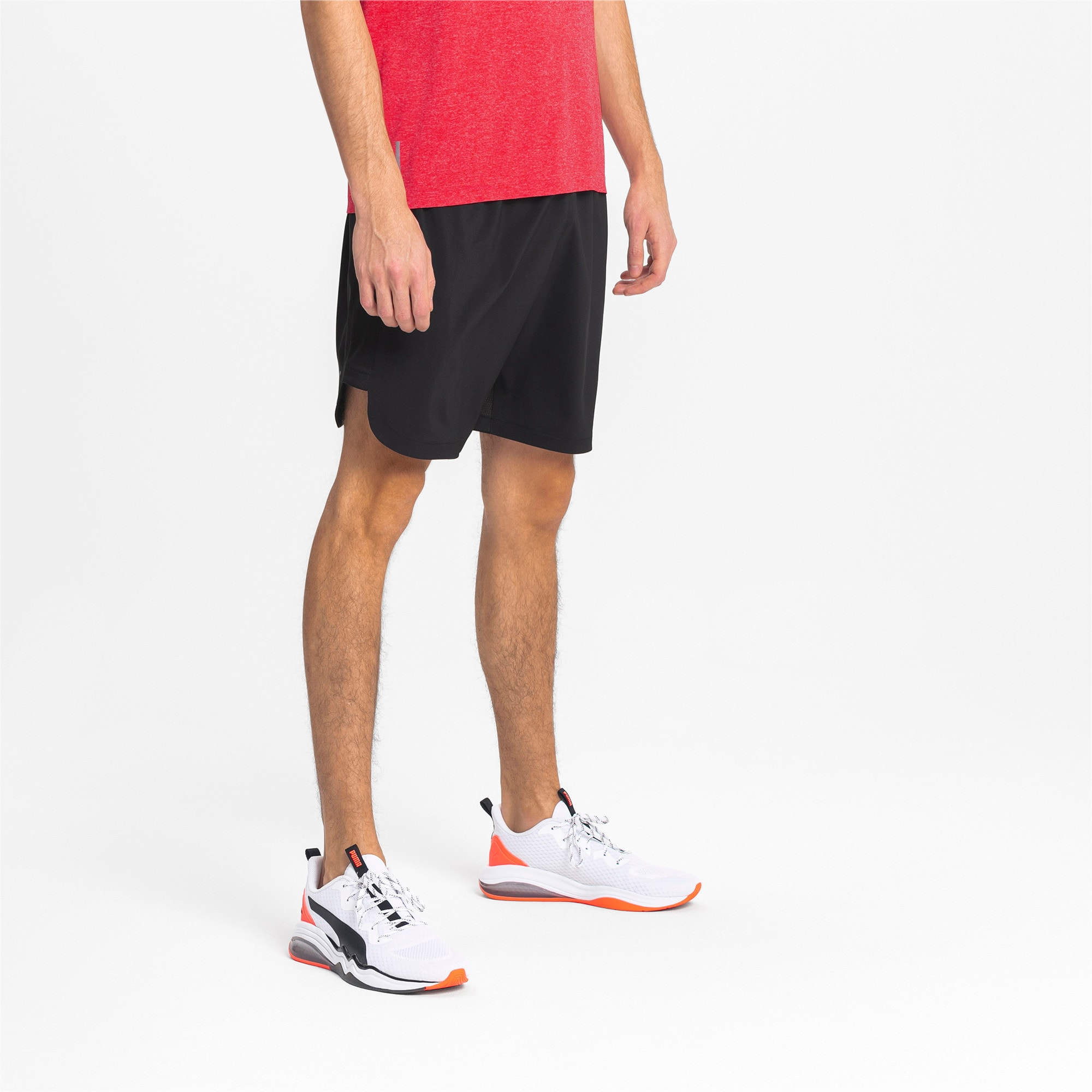 Thumbnail 1 of Woven Men's Training Shorts, Puma Black, medium