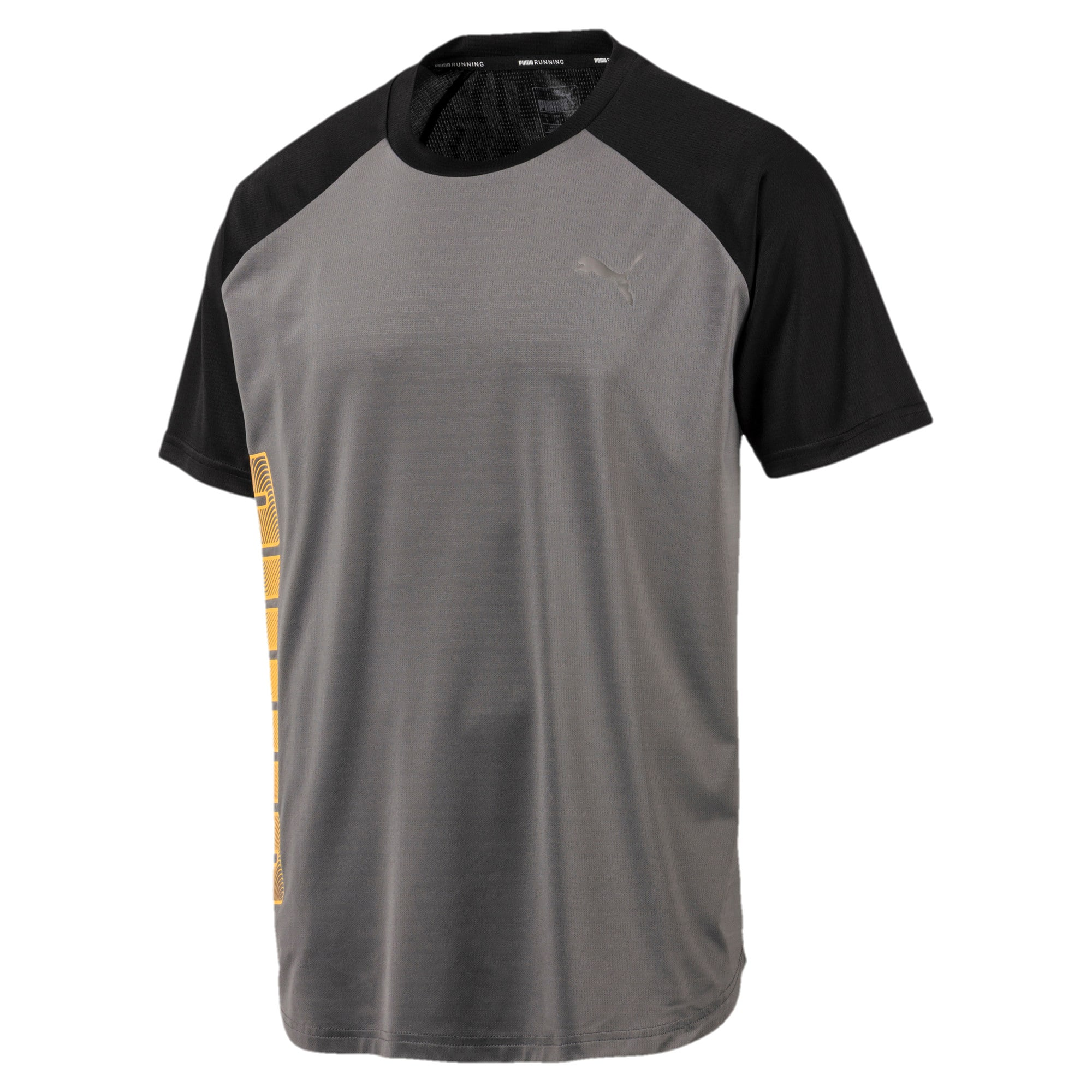 Thumbnail 4 of Collective Loud Men's Tee, CASTLEROCK-Puma Black, medium