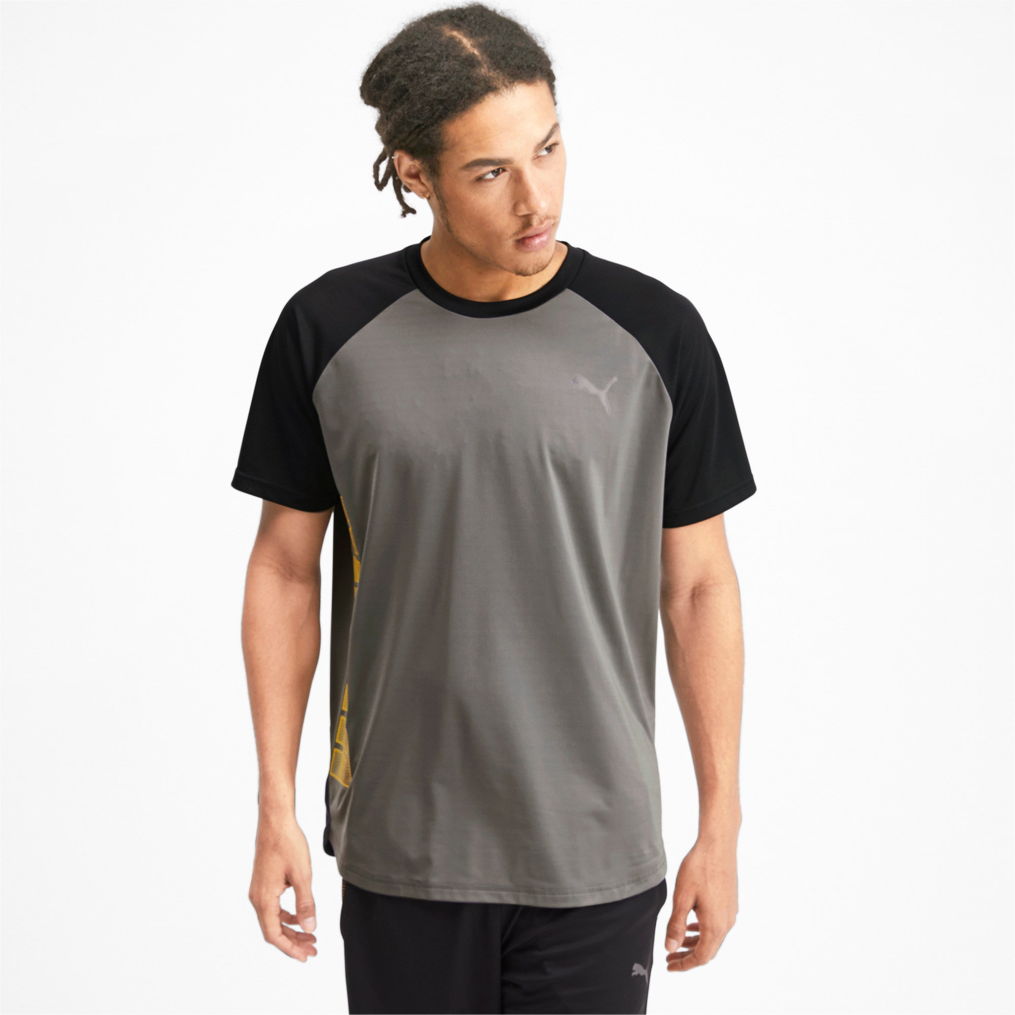 Thumbnail 1 of Collective Loud Men's Tee, CASTLEROCK-Puma Black, medium