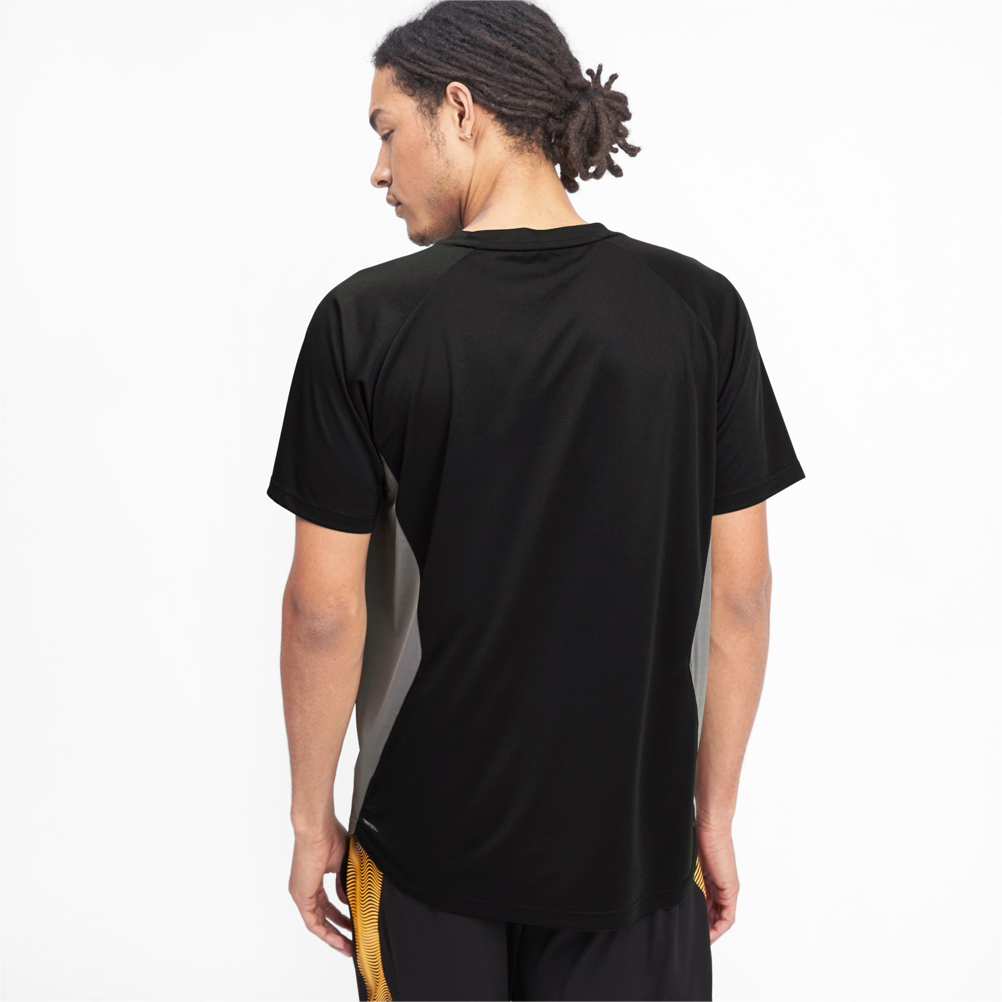 Thumbnail 2 of Collective Loud Men's Tee, CASTLEROCK-Puma Black, medium