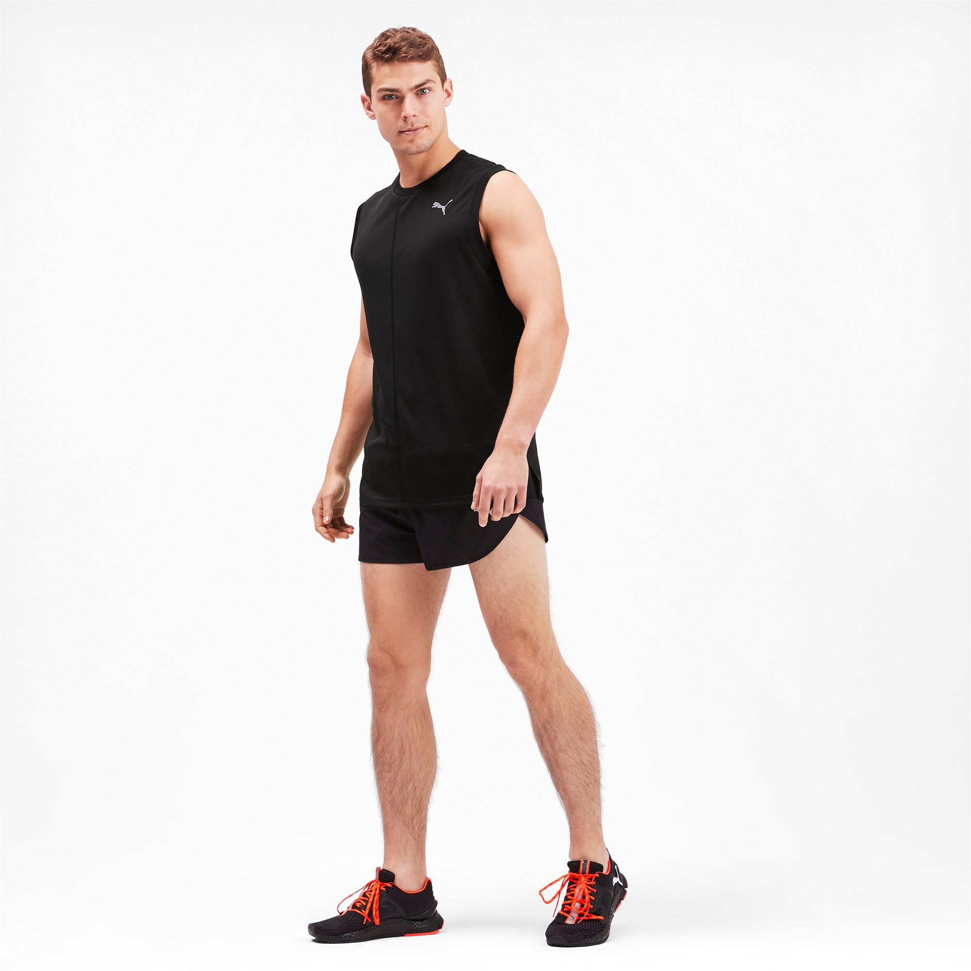 Thumbnail 2 of IGNITE Herren Singlet, Puma Black, medium