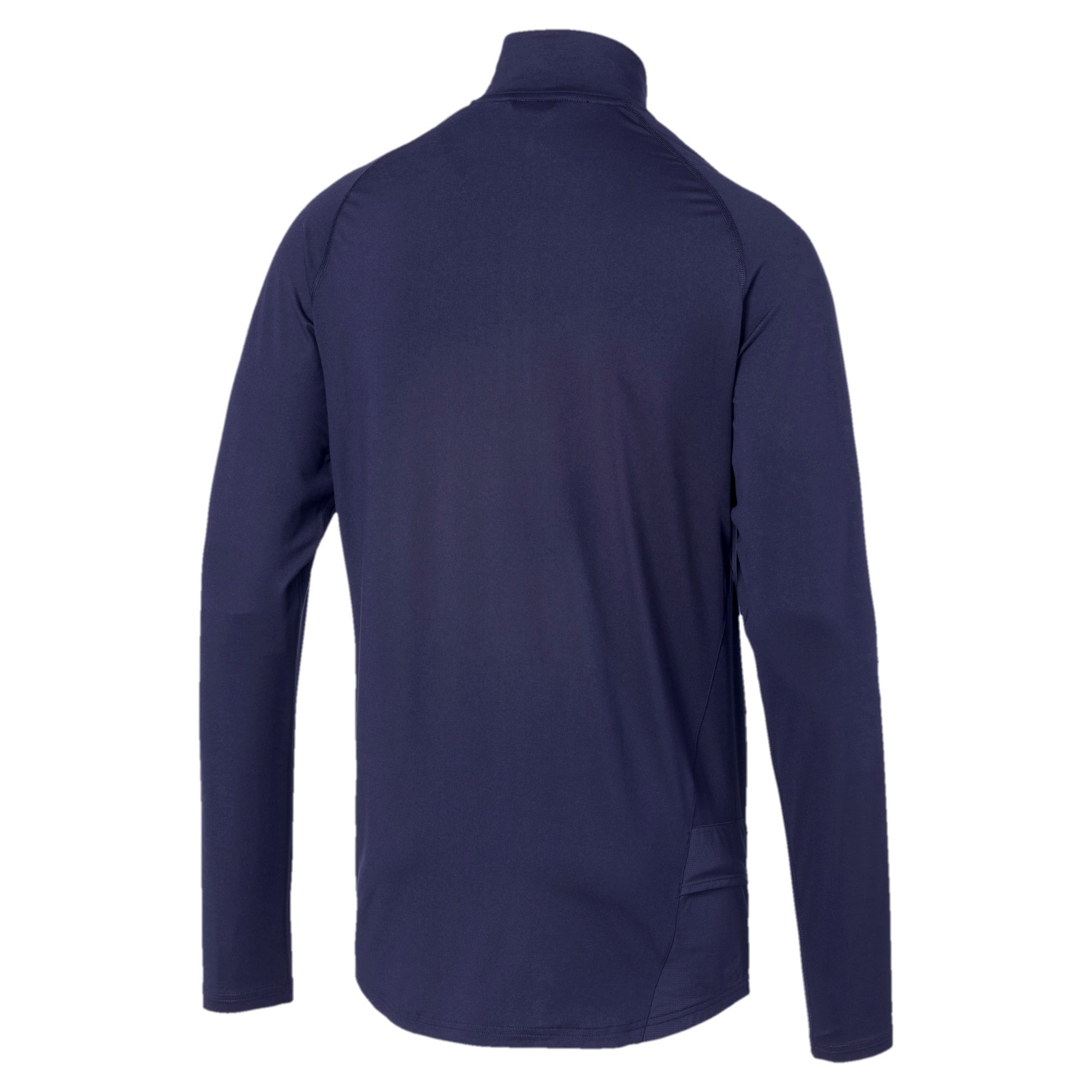 Thumbnail 5 of IGNITE Half Zip Men's Running Top, Peacoat, medium