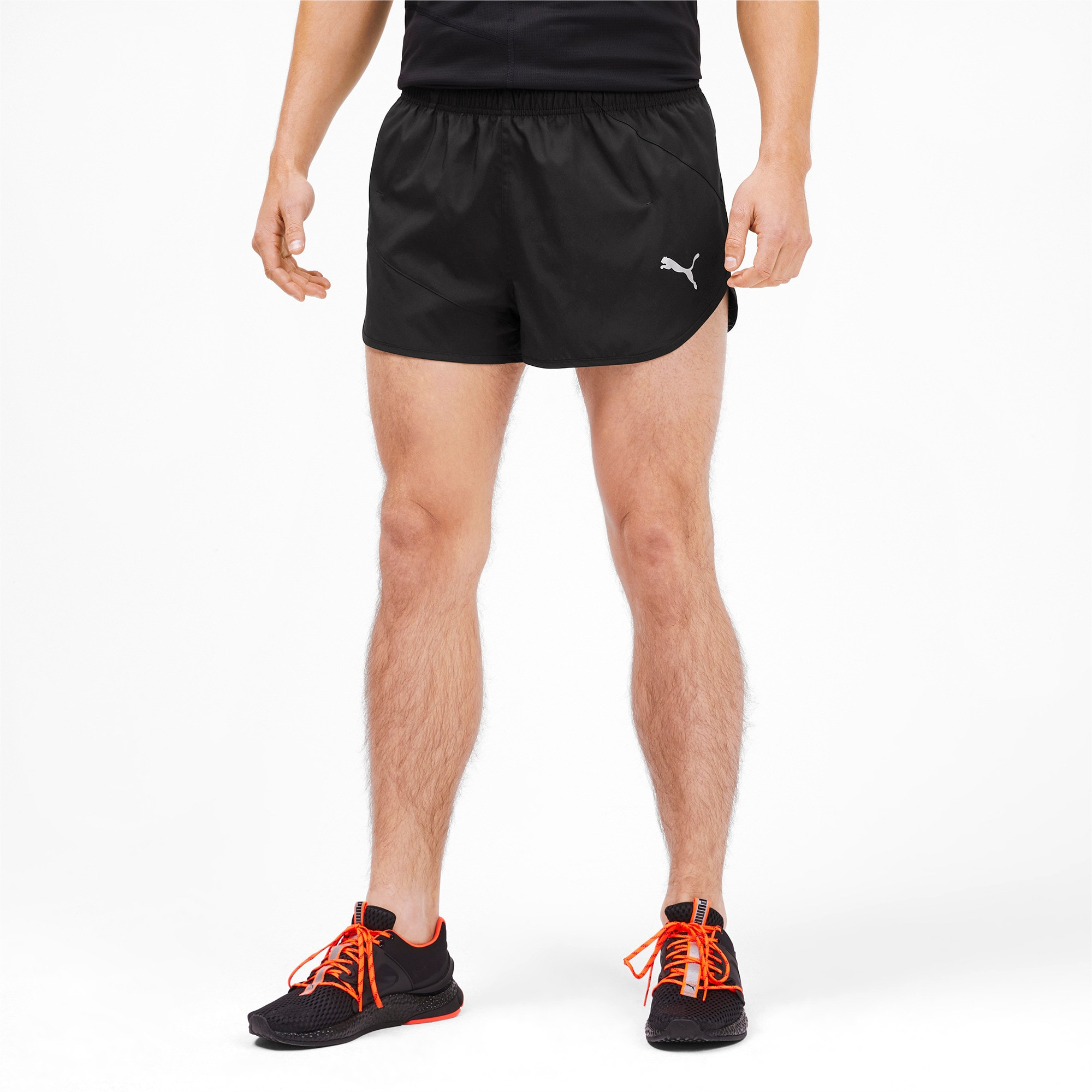 Thumbnail 1 of IGNITE Herren Running Split Shorts, Puma Black, medium