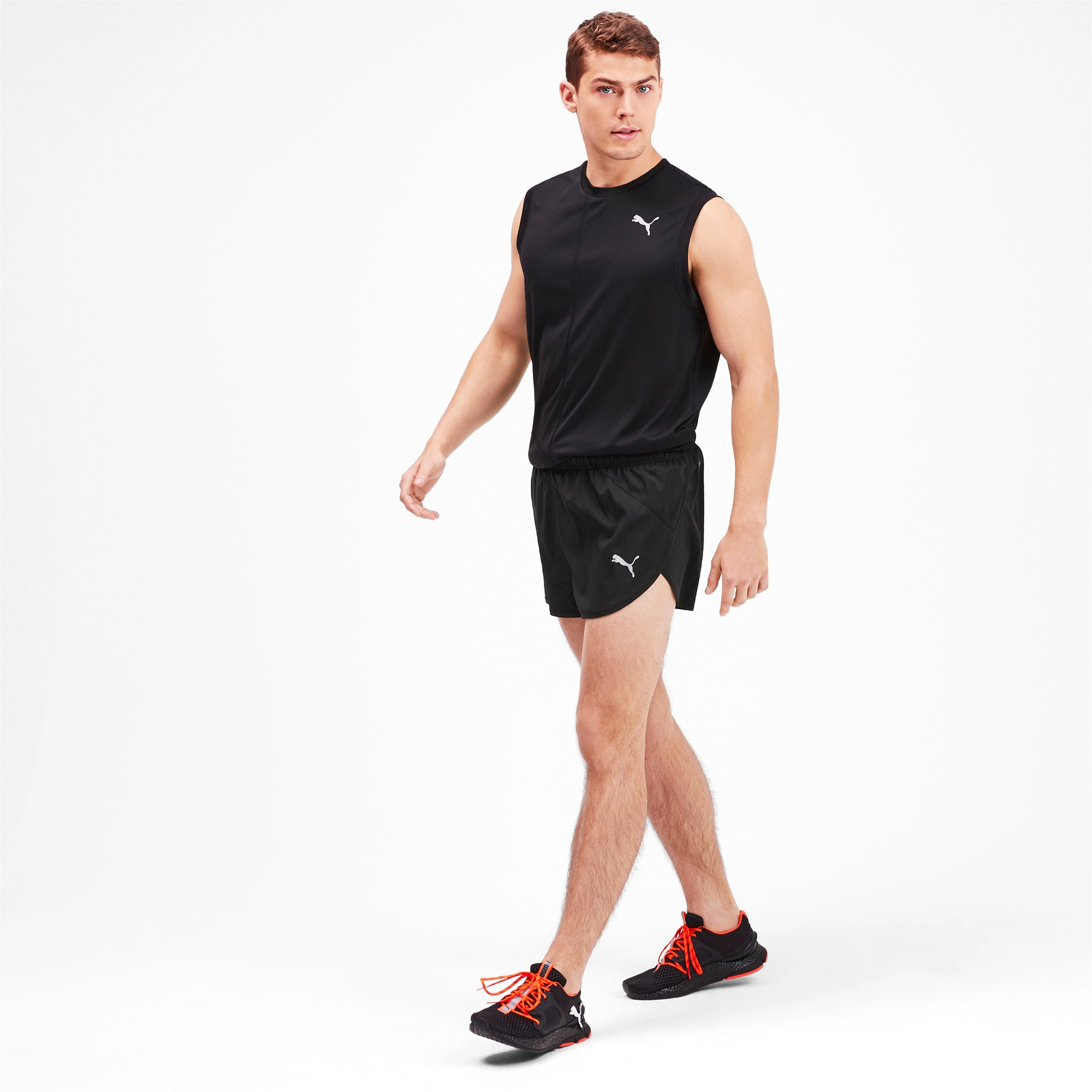 Thumbnail 3 of IGNITE Herren Running Split Shorts, Puma Black, medium