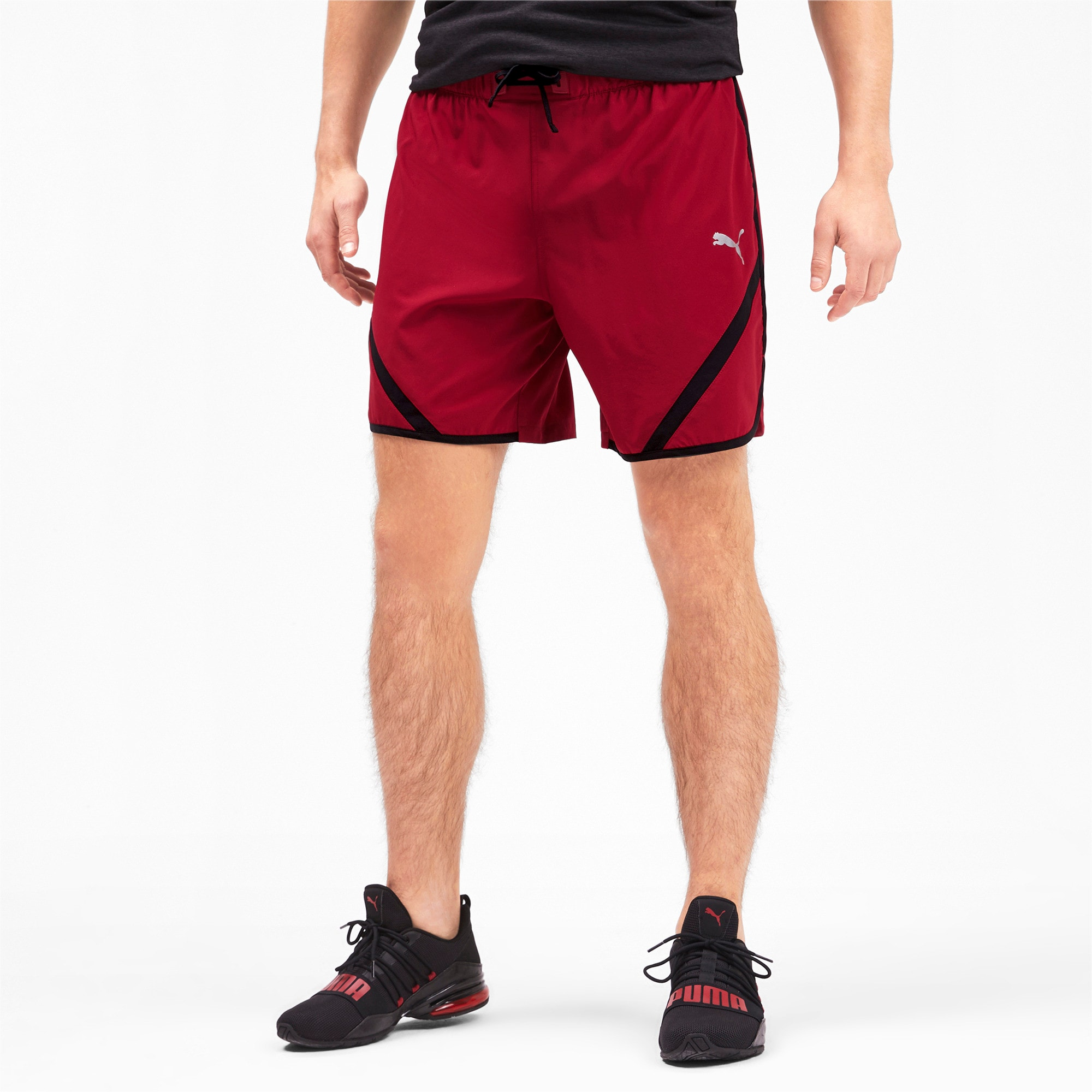 Thumbnail 1 of Get Fast Men's Shorts, Rhubarb-Puma Black, medium