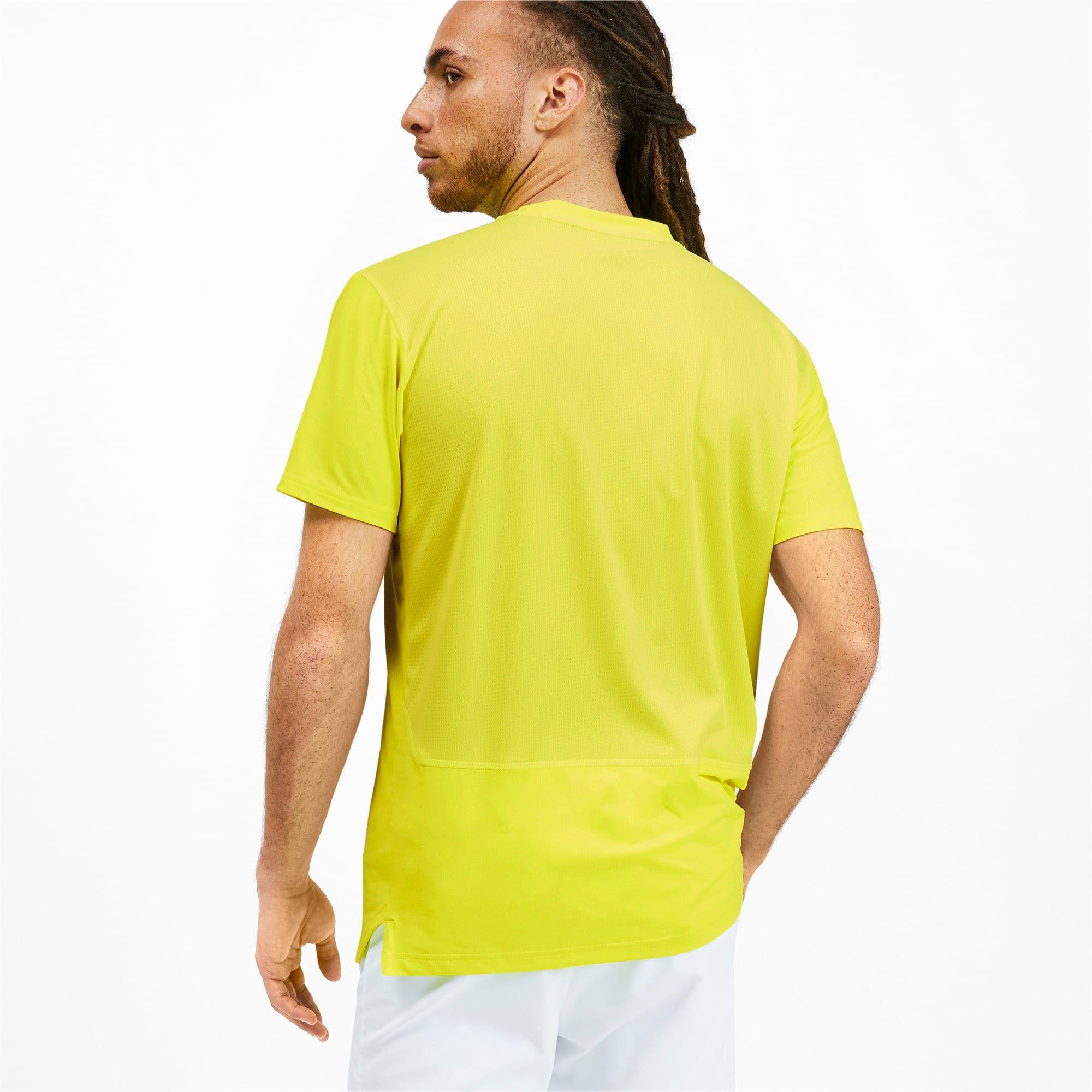 Miniatura 2 de Camiseta reflectante Tech para hombre, Yellow Alert, mediano