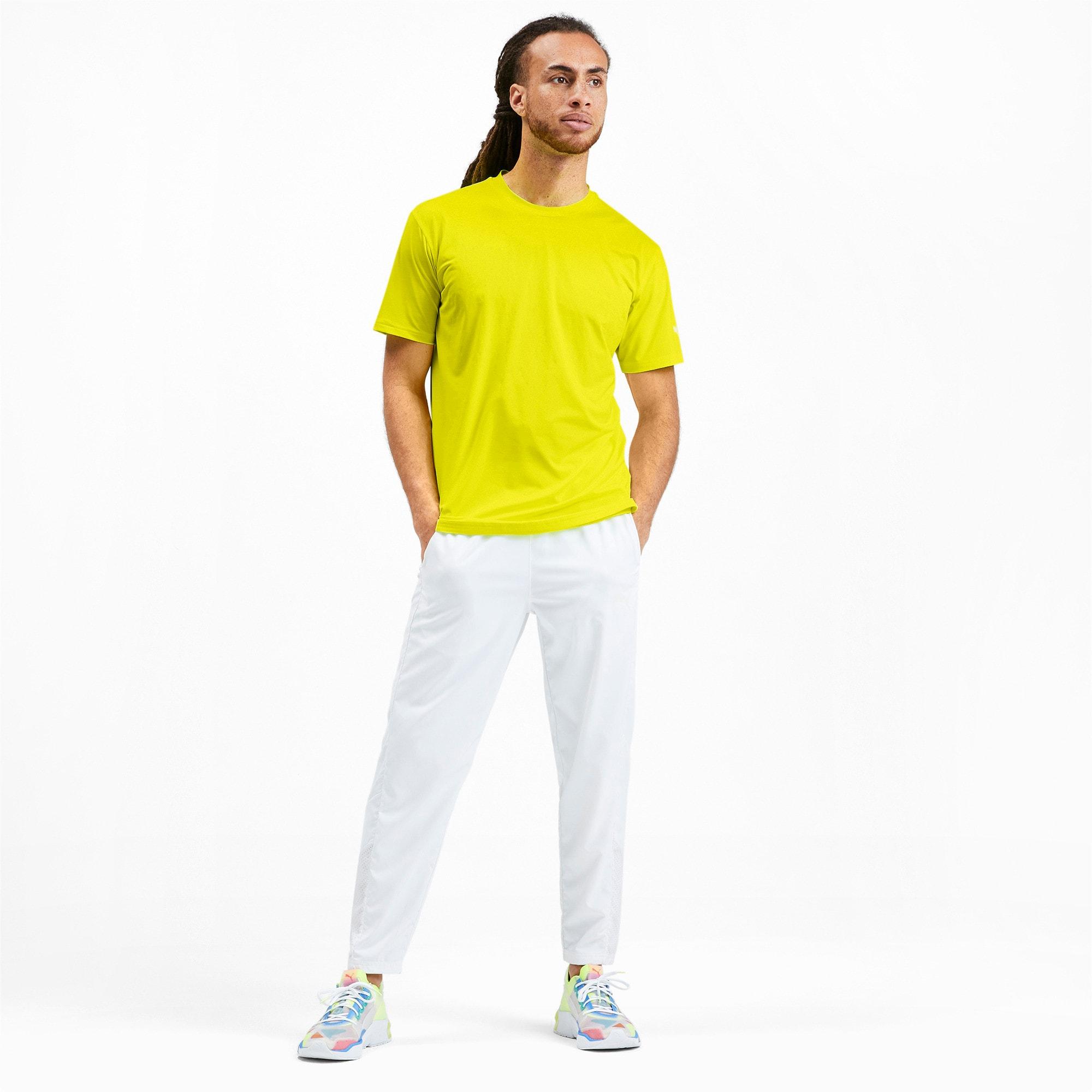 Miniatura 3 de Camiseta reflectante Tech para hombre, Yellow Alert, mediano