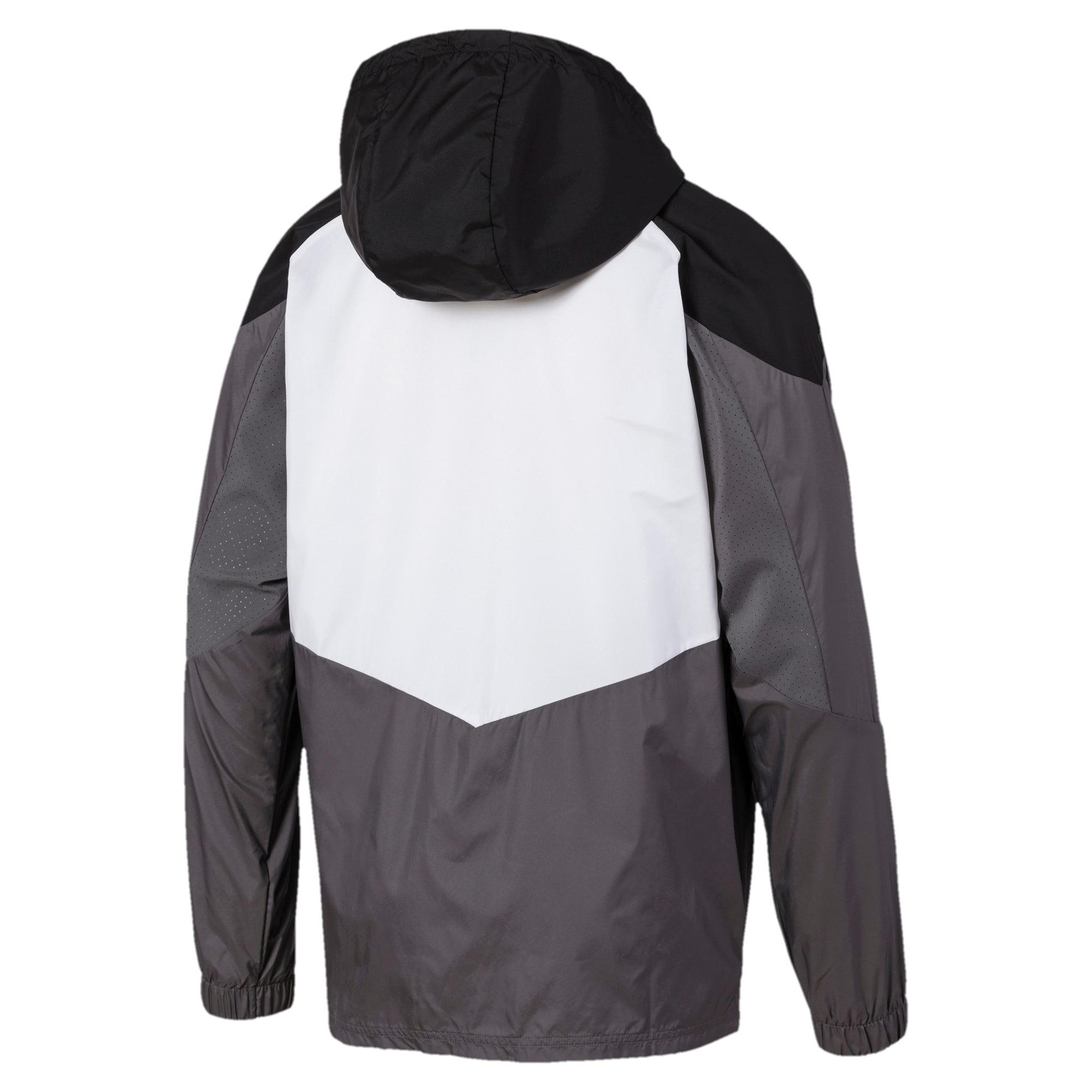 Thumbnail 5 of Reactive Woven Men's Training Jacket, Black-CASTLEROCK-White, medium