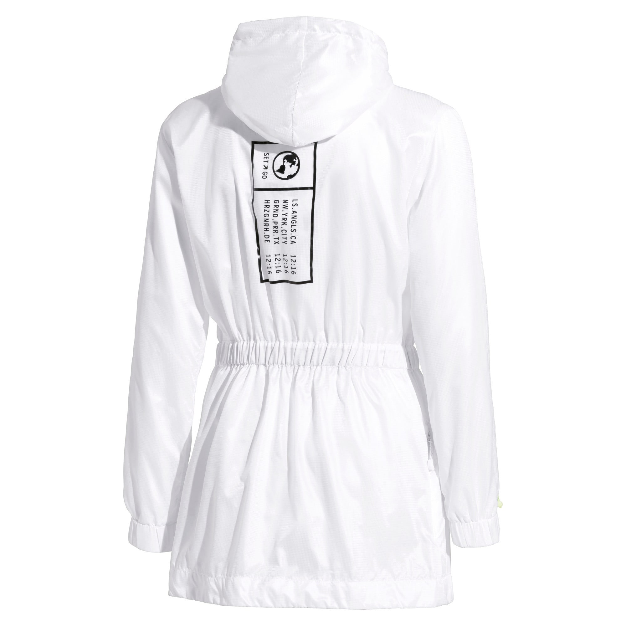 Thumbnail 5 of PUMA x SELENA GOMEZ Hooded Women's Jacket, Puma White, medium
