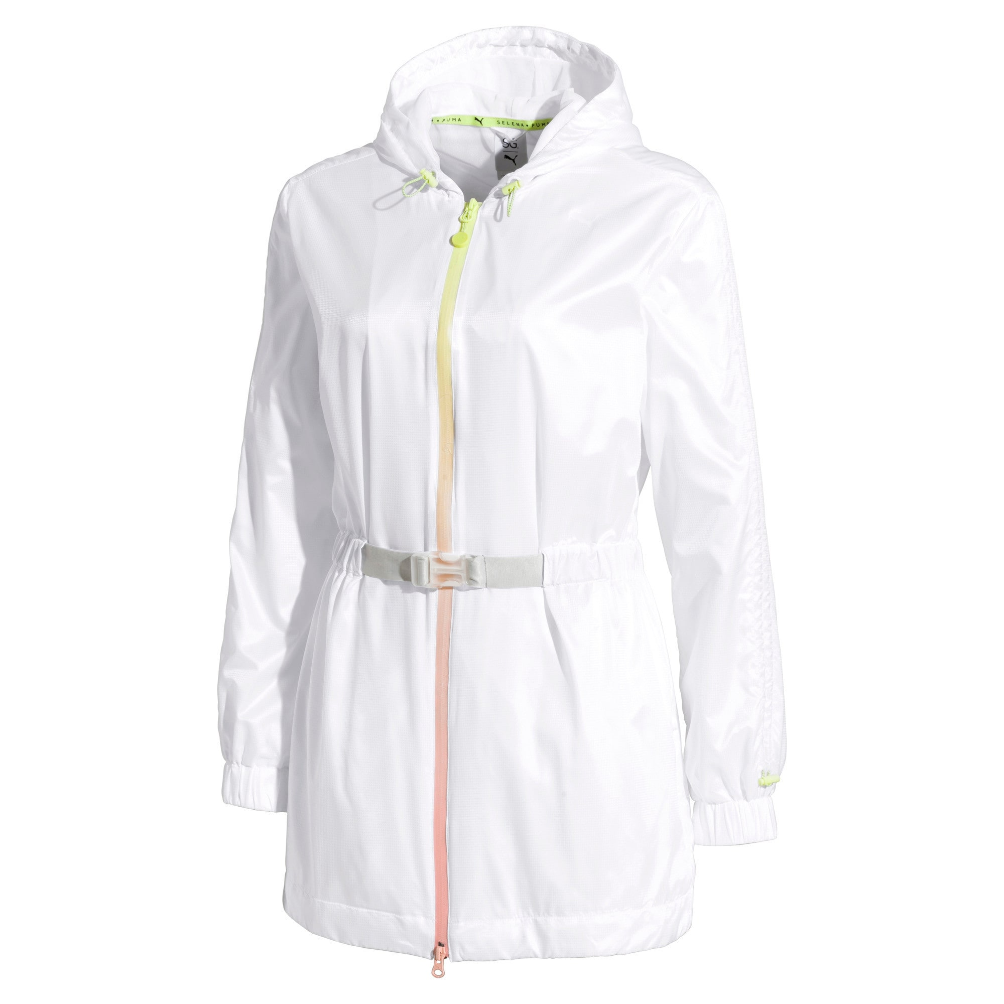 Thumbnail 4 of PUMA x SELENA GOMEZ Hooded Women's Jacket, Puma White, medium