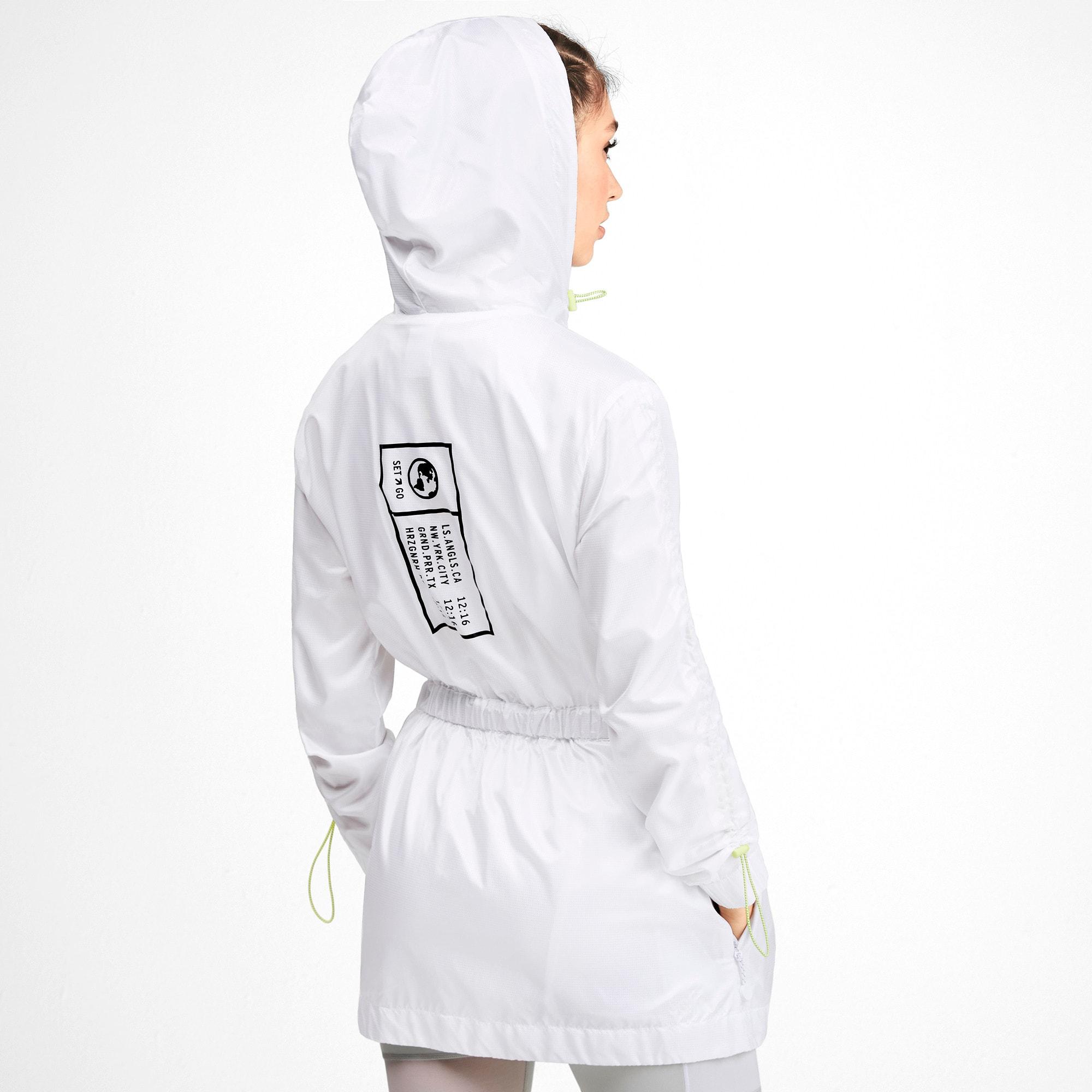 Thumbnail 2 of PUMA x SELENA GOMEZ Hooded Women's Jacket, Puma White, medium