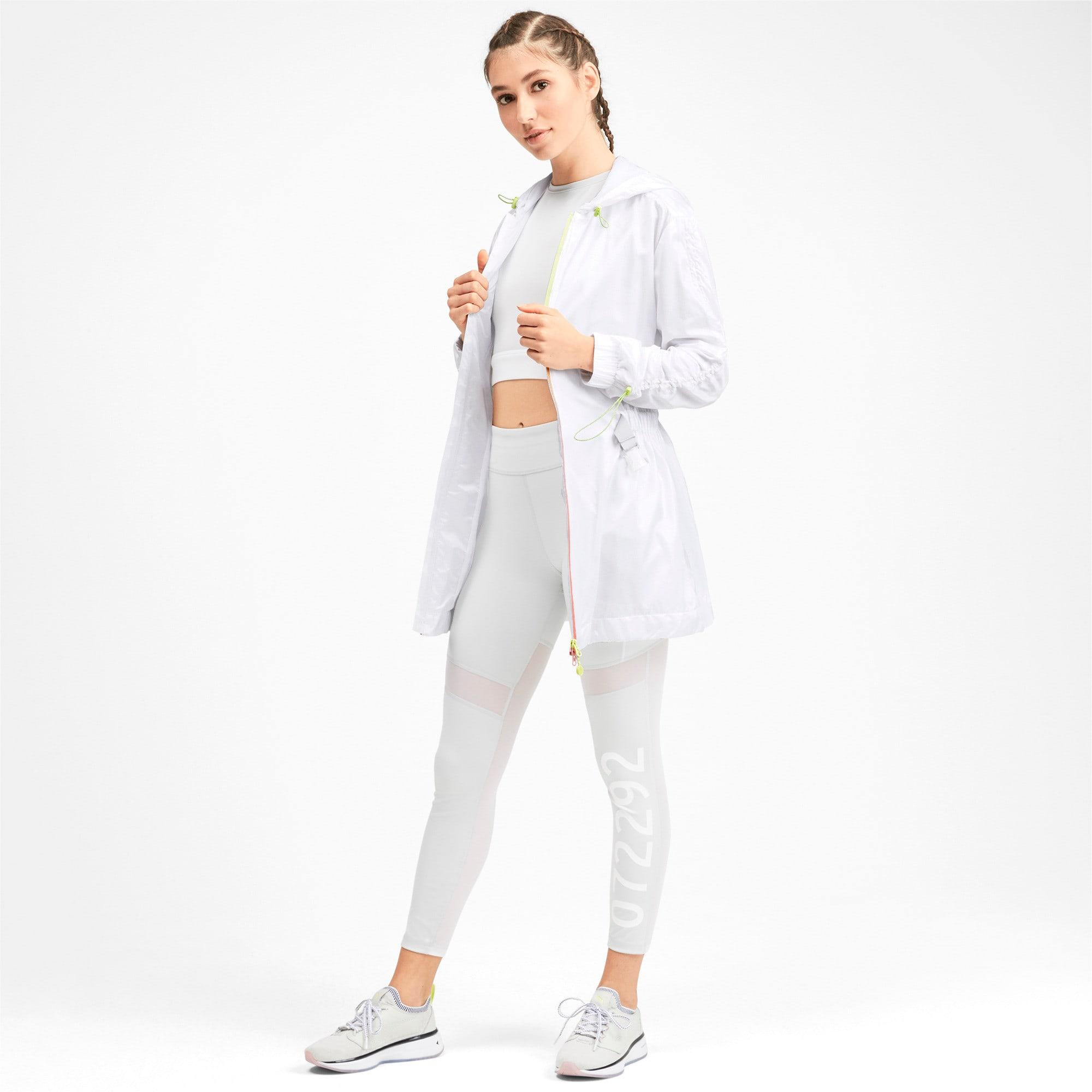 Thumbnail 3 of PUMA x SELENA GOMEZ Hooded Women's Jacket, Puma White, medium