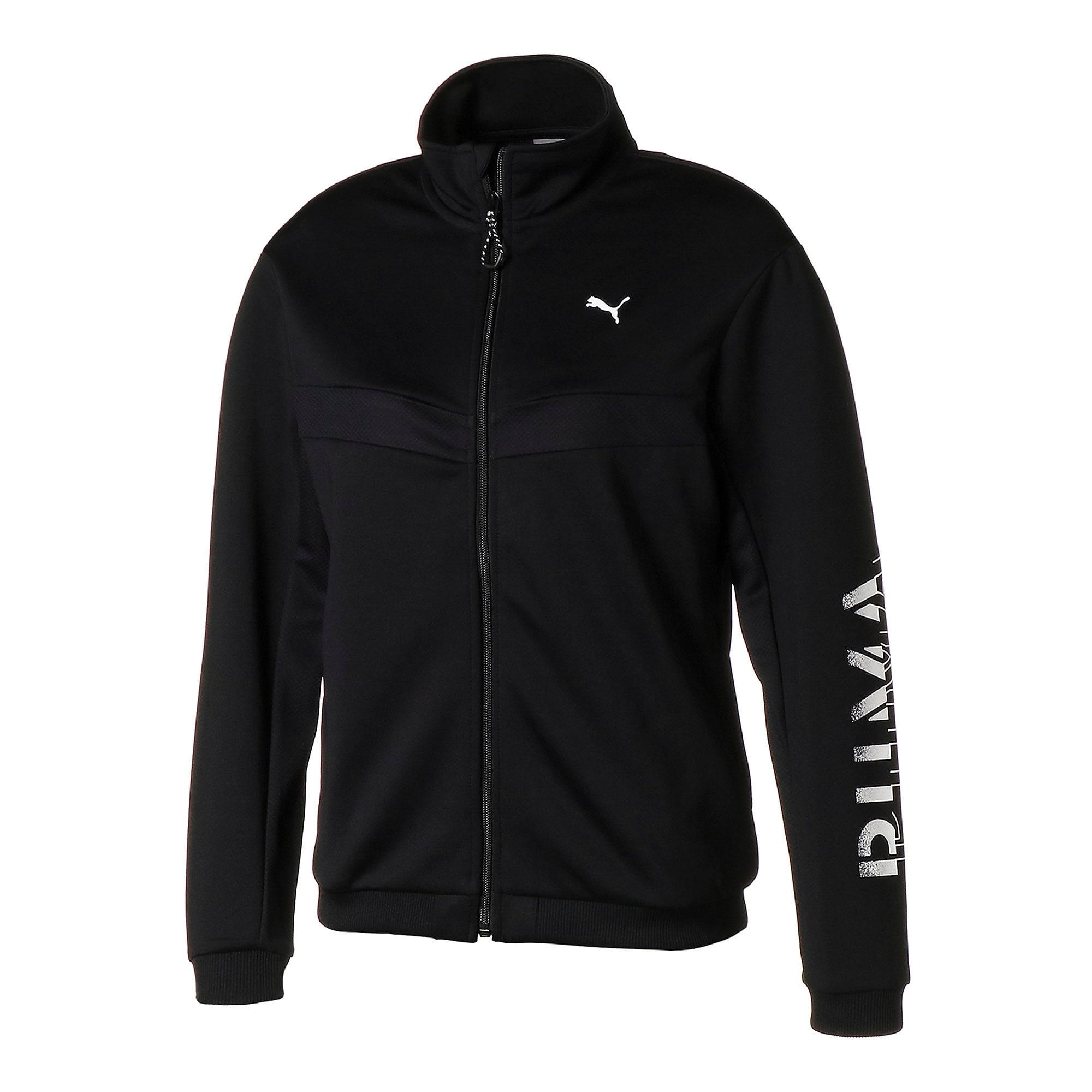 Thumbnail 1 of フィール イット ウィメンズ トレーニング ジャケット, Puma Black, medium-JPN