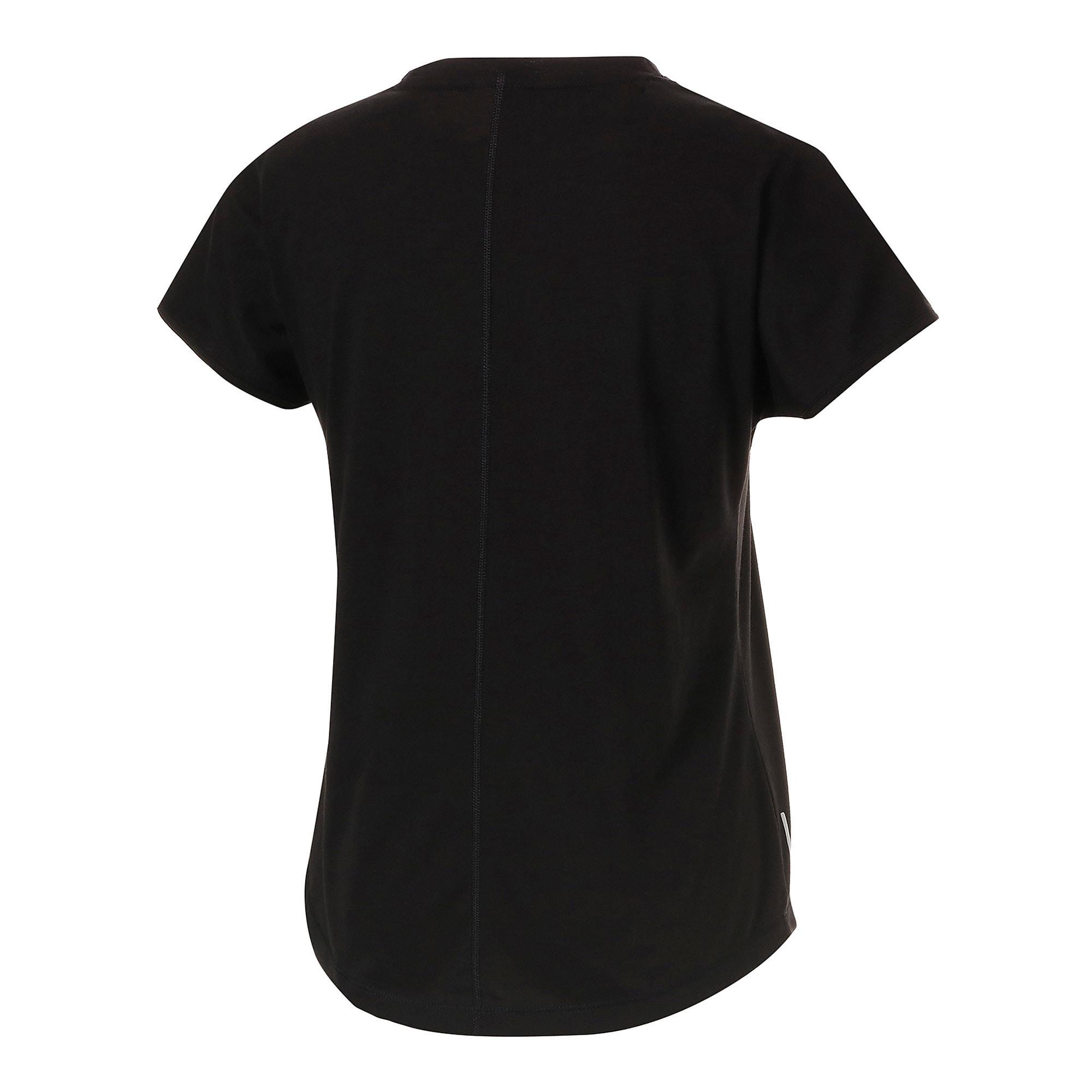 Thumbnail 6 of FAVORITE キャット SS ウィメンズ トレーニング Tシャツ 半袖, Puma Black-CAT Q3, medium-JPN