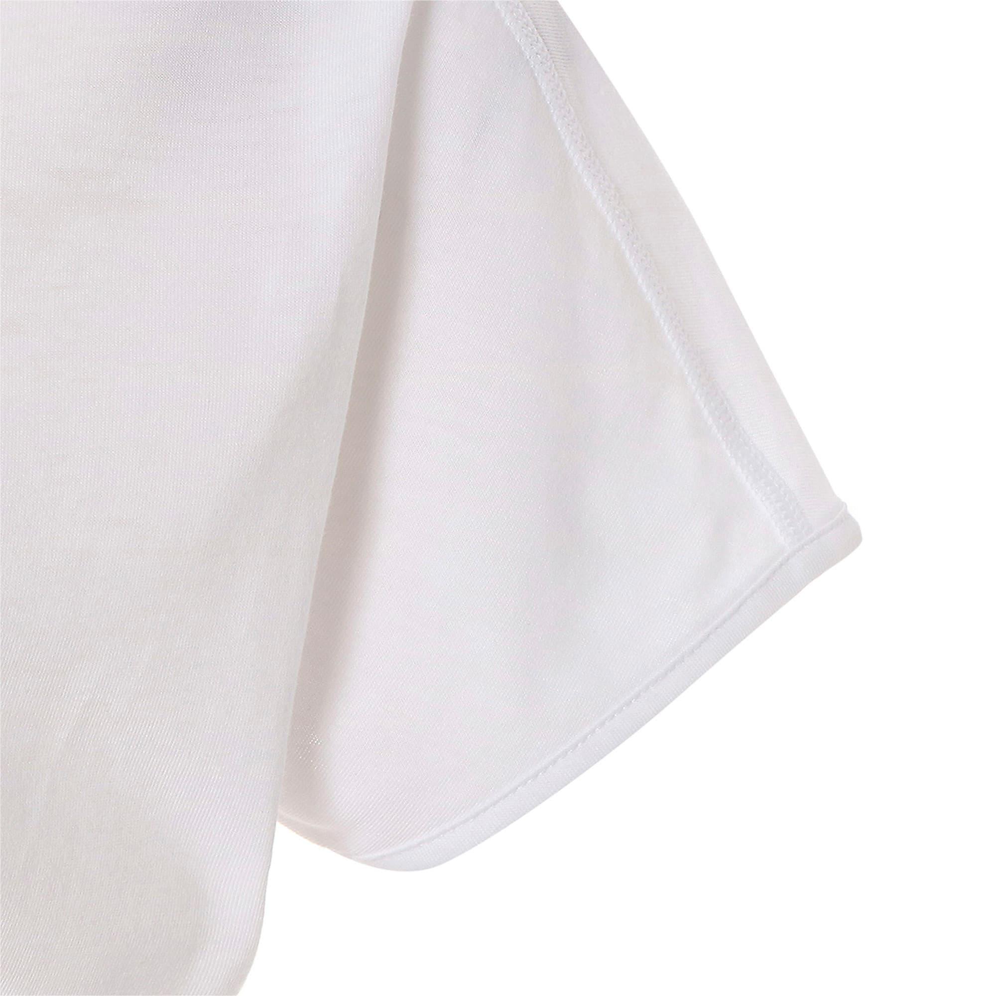 Thumbnail 8 of FAVORITE キャット SS ウィメンズ トレーニング Tシャツ 半袖, Puma White-CAT Q3, medium-JPN