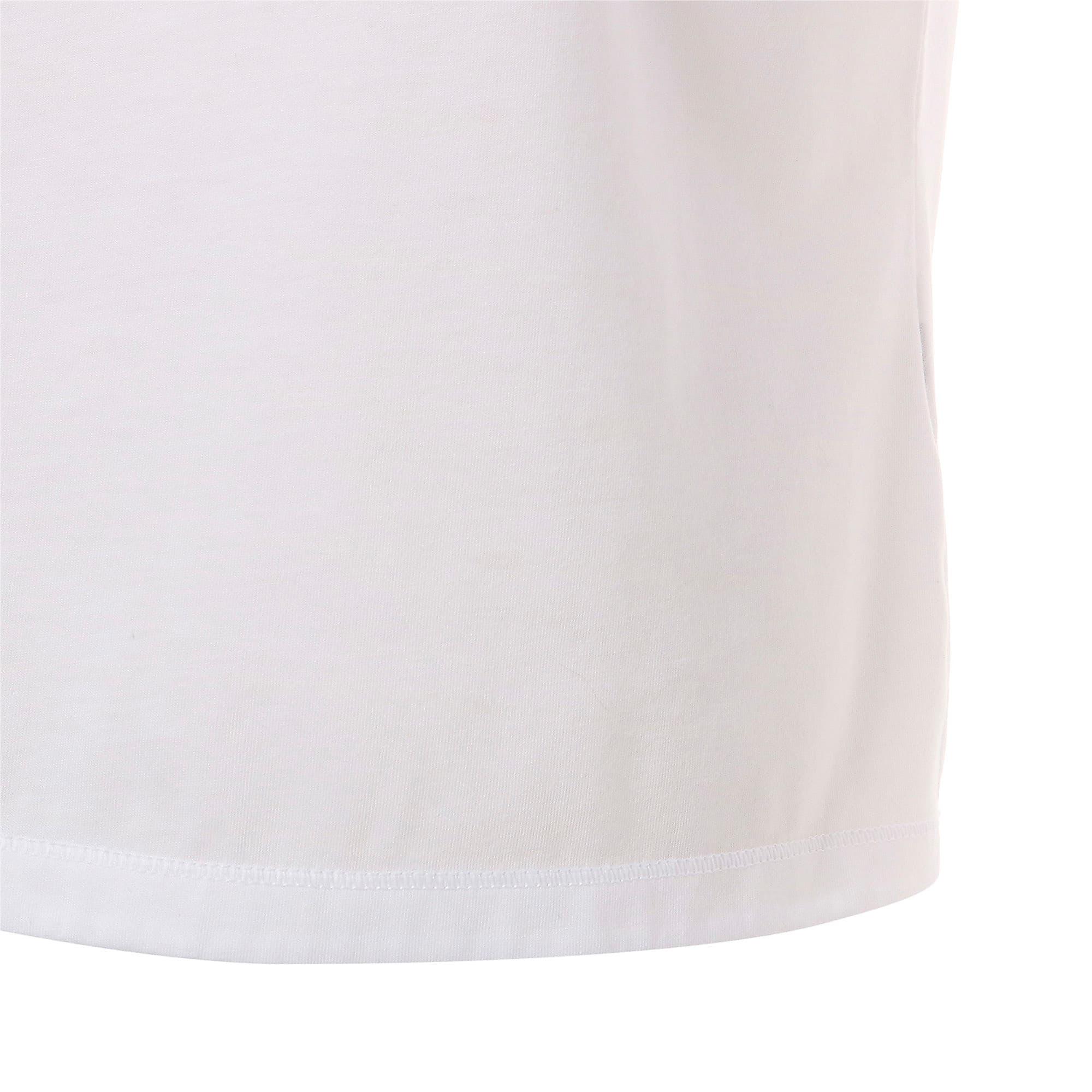 Thumbnail 9 of FAVORITE キャット SS ウィメンズ トレーニング Tシャツ 半袖, Puma White-CAT Q3, medium-JPN