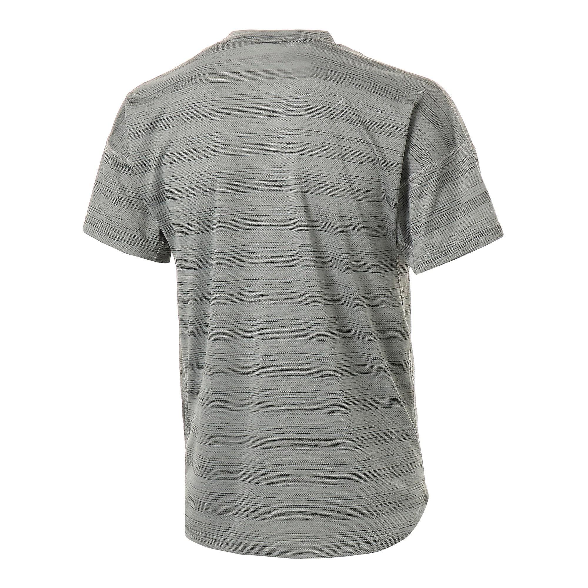 Thumbnail 6 of LAST LAP ヘザー SS ランニング Tシャツ 半袖, Medium Gray Heather, medium-JPN