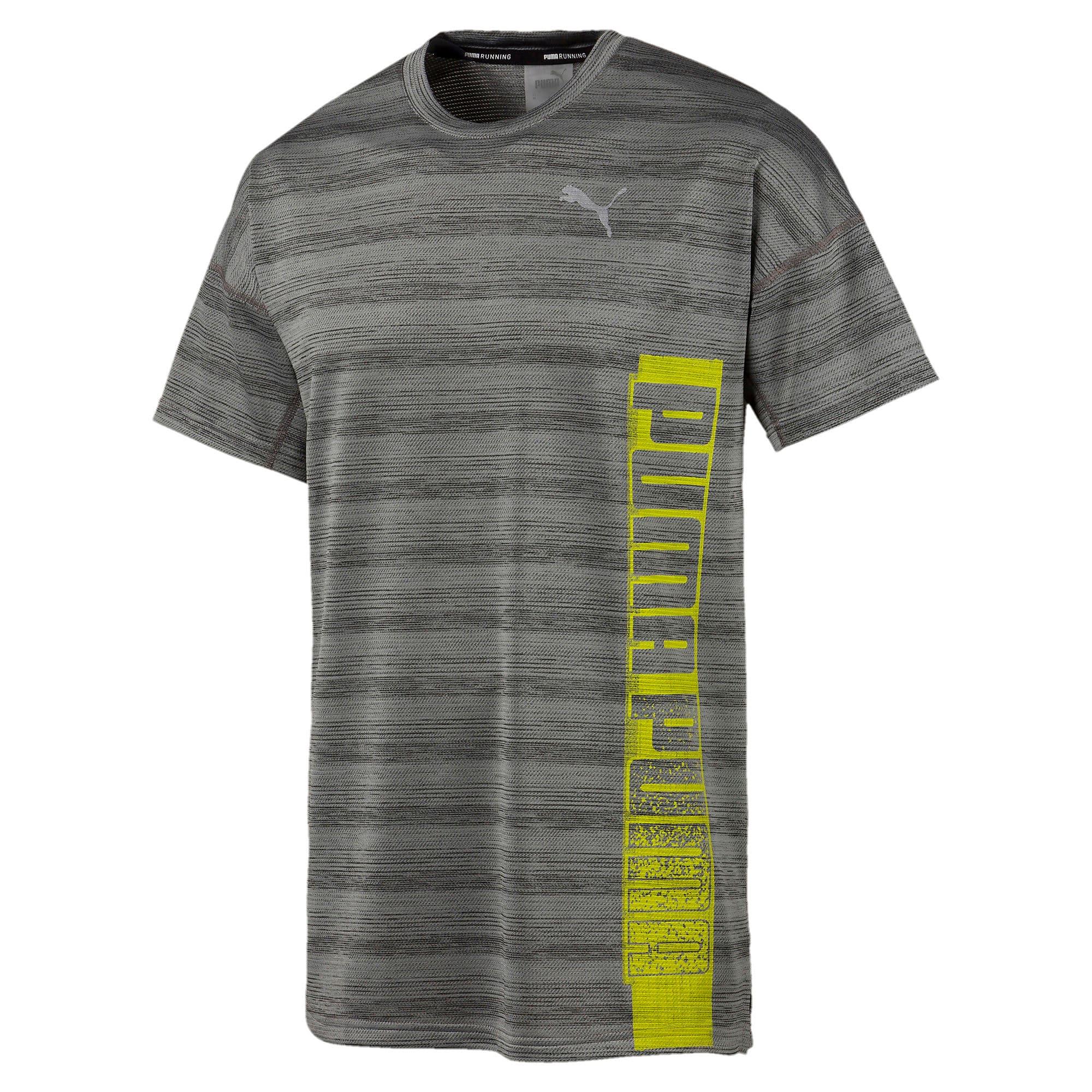 Thumbnail 4 of LAST LAP ヘザー SS ランニング Tシャツ 半袖, Medium Gray Heather, medium-JPN