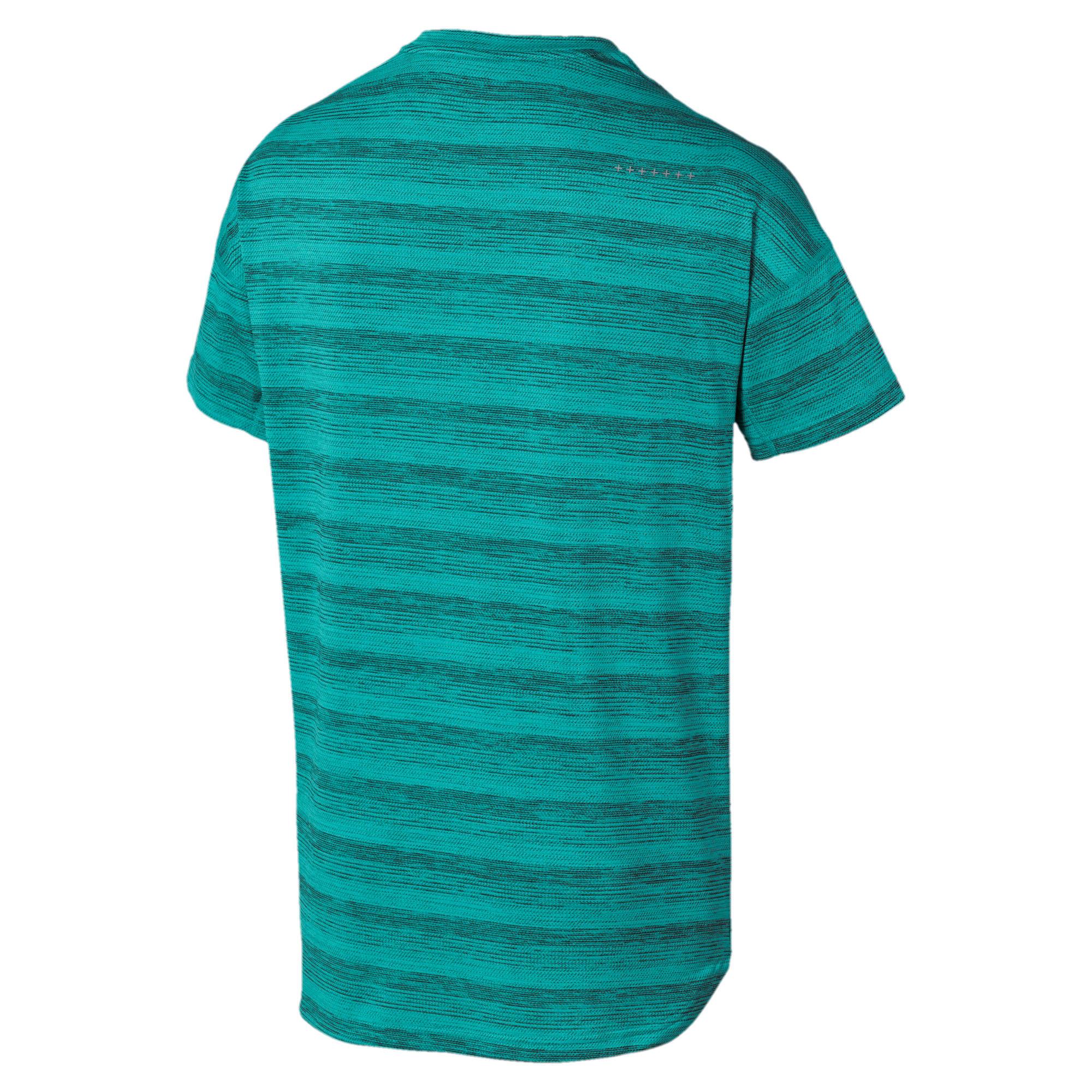 Thumbnail 6 of LAST LAP ヘザー SS ランニング Tシャツ 半袖, Blue Turquoise Heather, medium-JPN