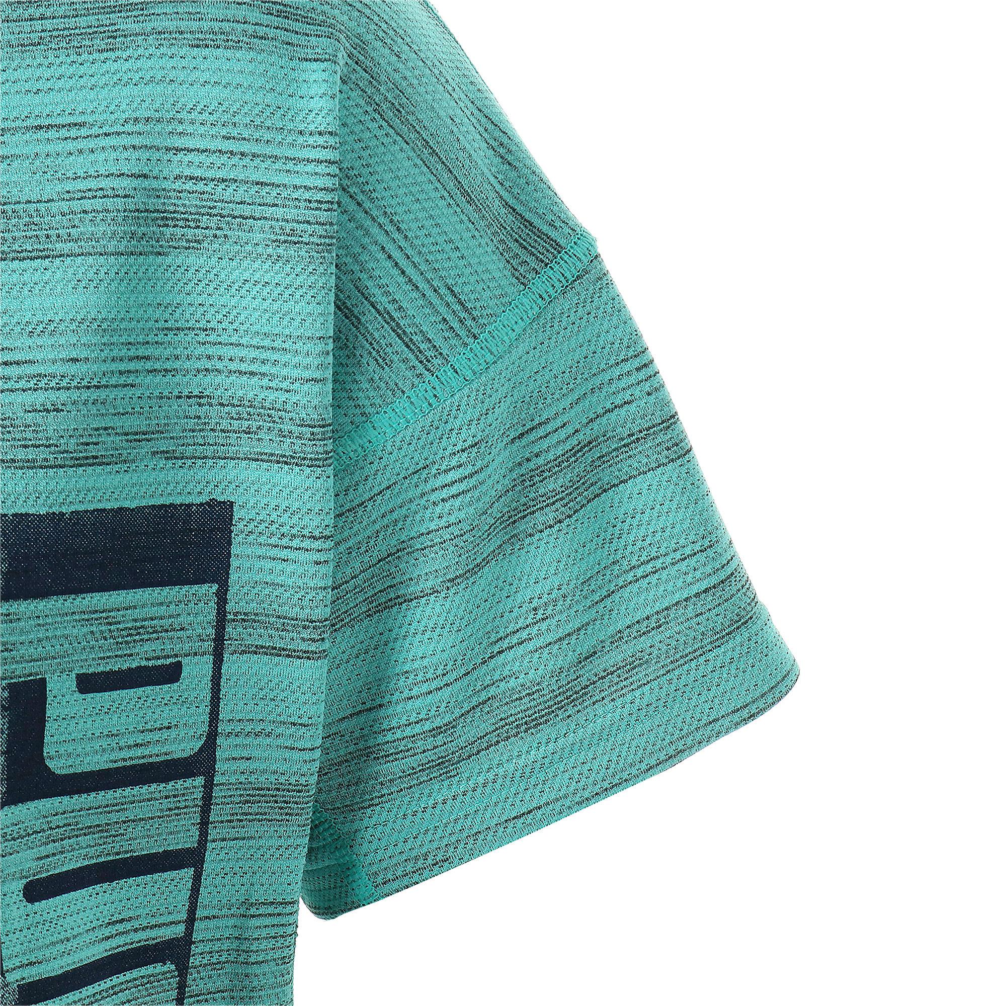 Thumbnail 8 of LAST LAP ヘザー SS ランニング Tシャツ 半袖, Blue Turquoise Heather, medium-JPN