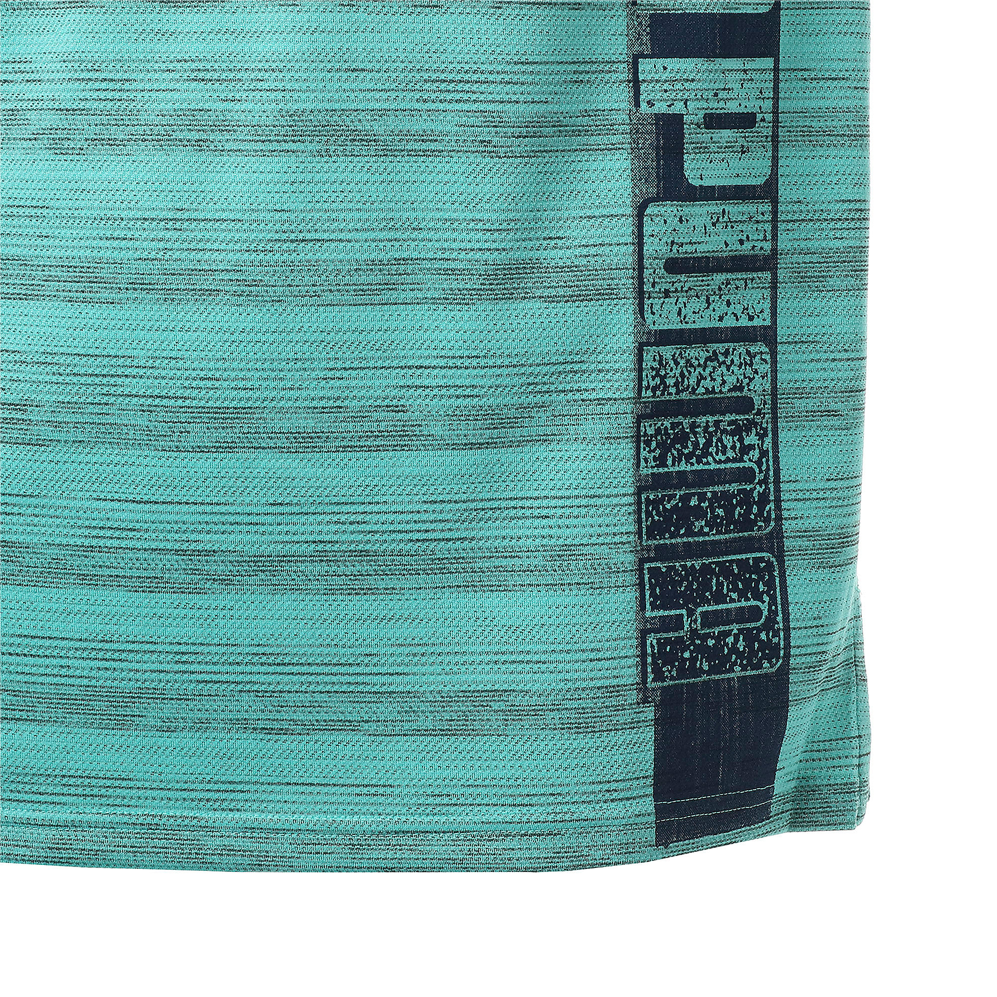 Thumbnail 9 of LAST LAP ヘザー SS ランニング Tシャツ 半袖, Blue Turquoise Heather, medium-JPN