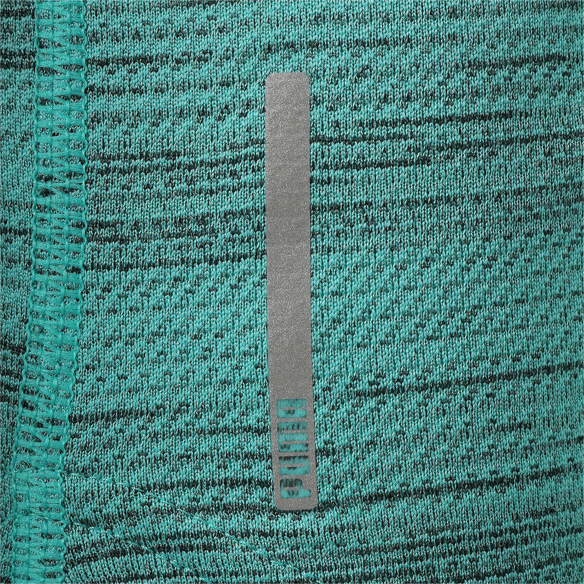 Thumbnail 11 of LAST LAP ヘザー SS ランニング Tシャツ 半袖, Blue Turquoise Heather, medium-JPN