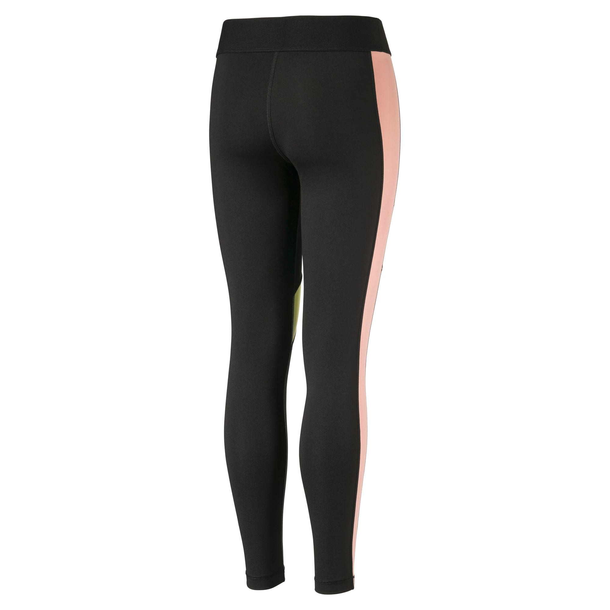 Thumbnail 2 of Girls' Leggings, Puma Black, medium
