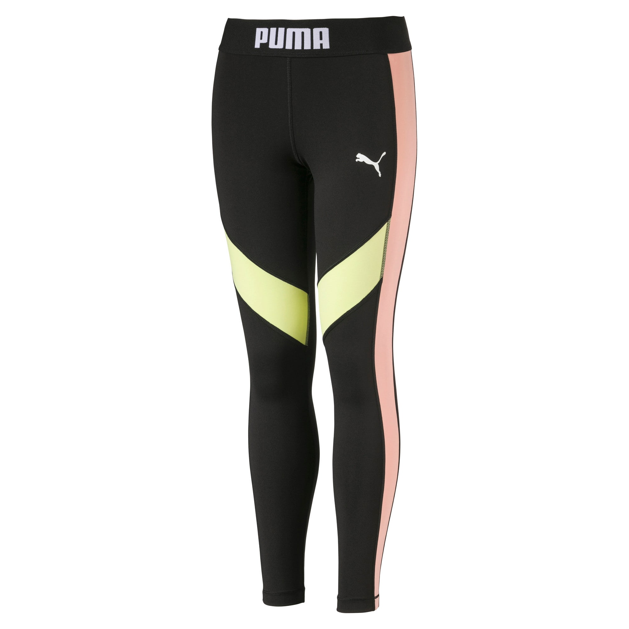 Thumbnail 1 of Girls' Leggings, Puma Black, medium