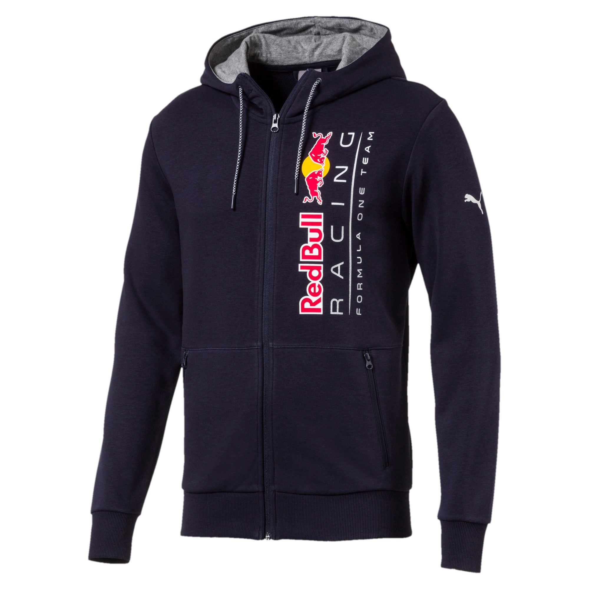 Thumbnail 1 of Red Bull Racing Lifestyle Men's Hooded Sweat Jacket, NIGHT SKY, medium