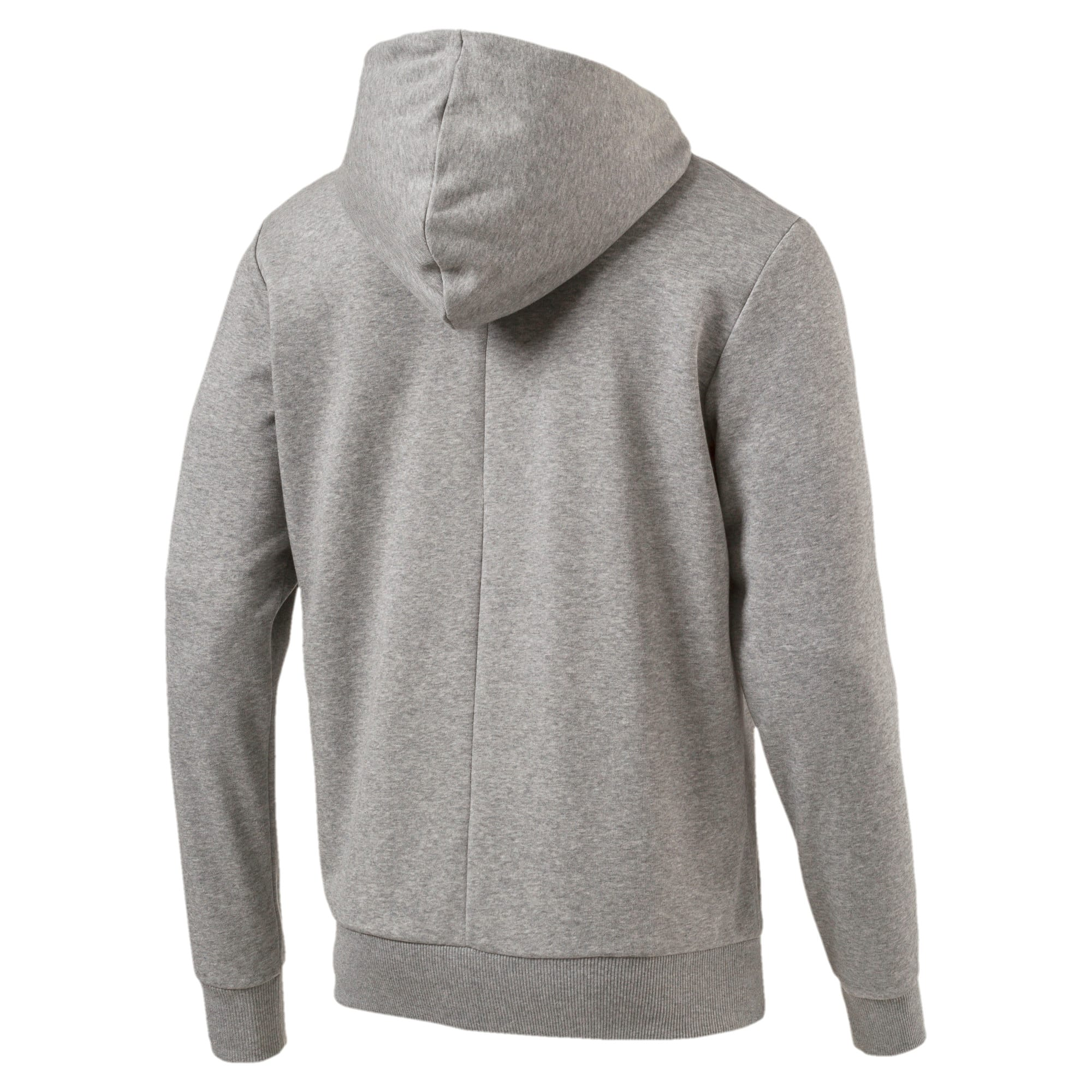 Thumbnail 3 of Red Bull Racing Lifestyle Men's Hooded Sweat Jacket, Medium Gray Heather - 1, medium