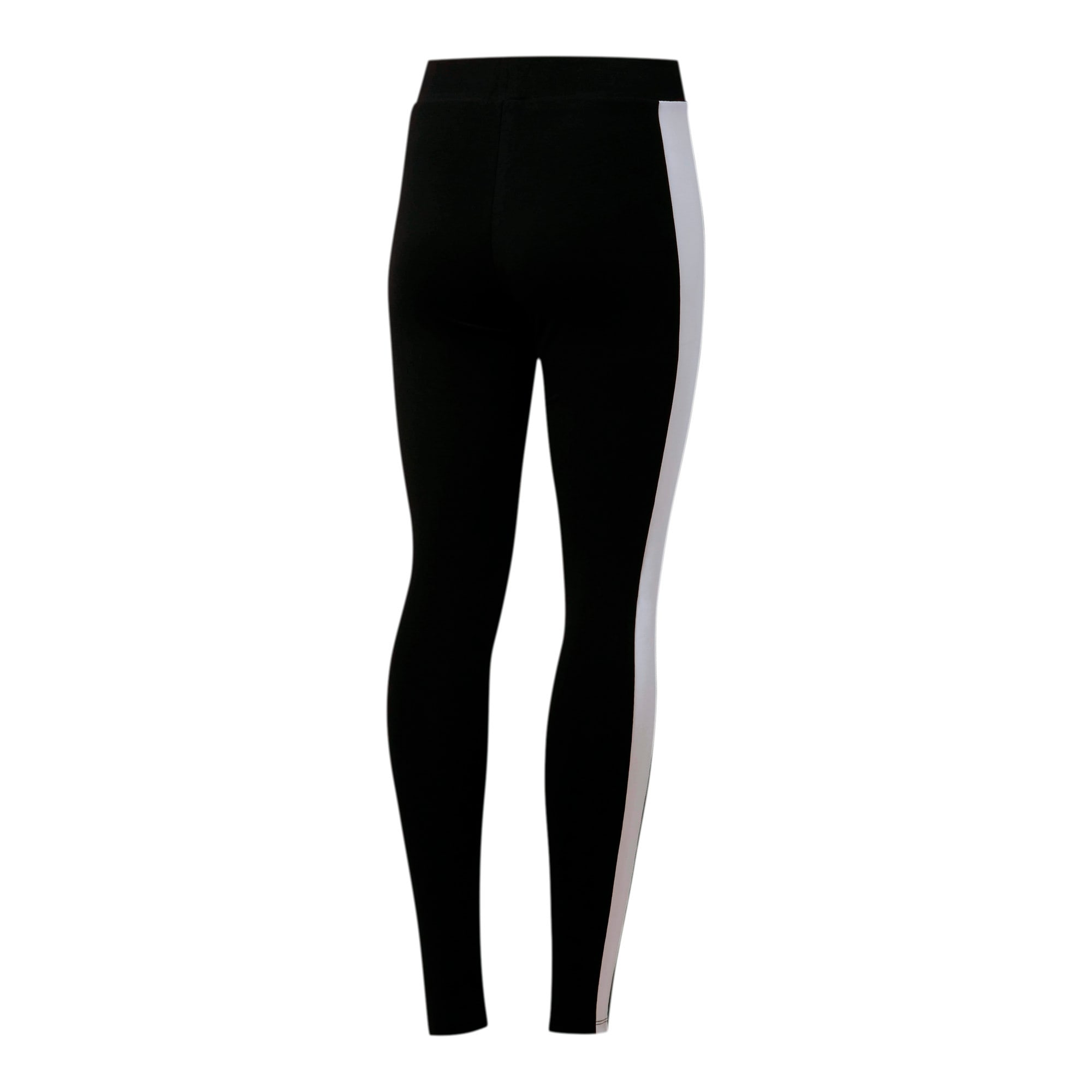 Thumbnail 3 of Classics Logo T7 Women's Leggings, Cotton Black, medium