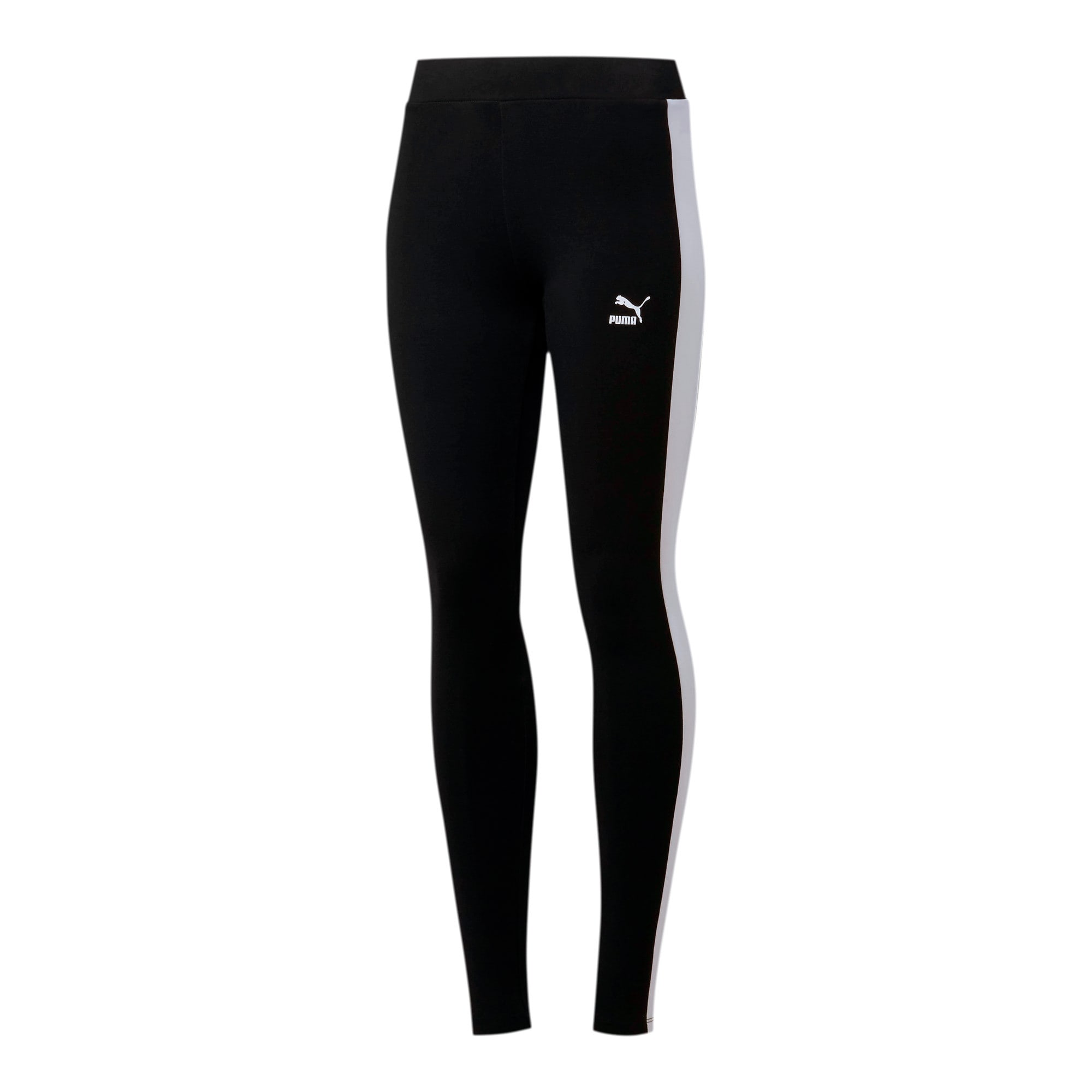 Thumbnail 2 of Classics Logo T7 Women's Leggings, Cotton Black, medium
