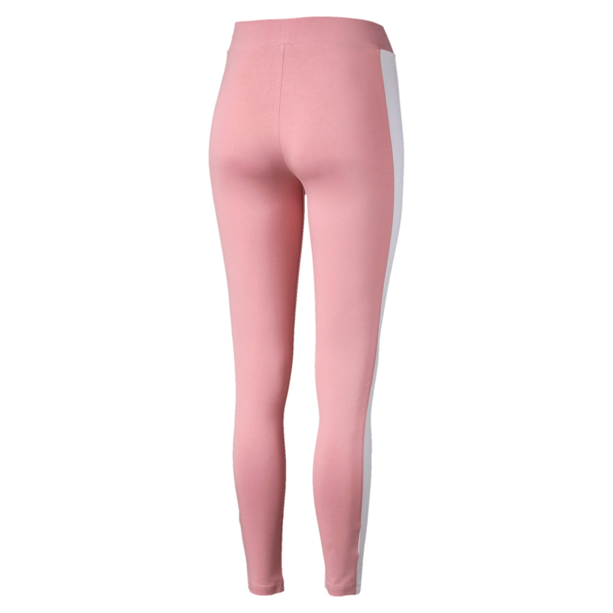 Thumbnail 5 of Classics Logo T7 Legging, Bridal Rose, medium