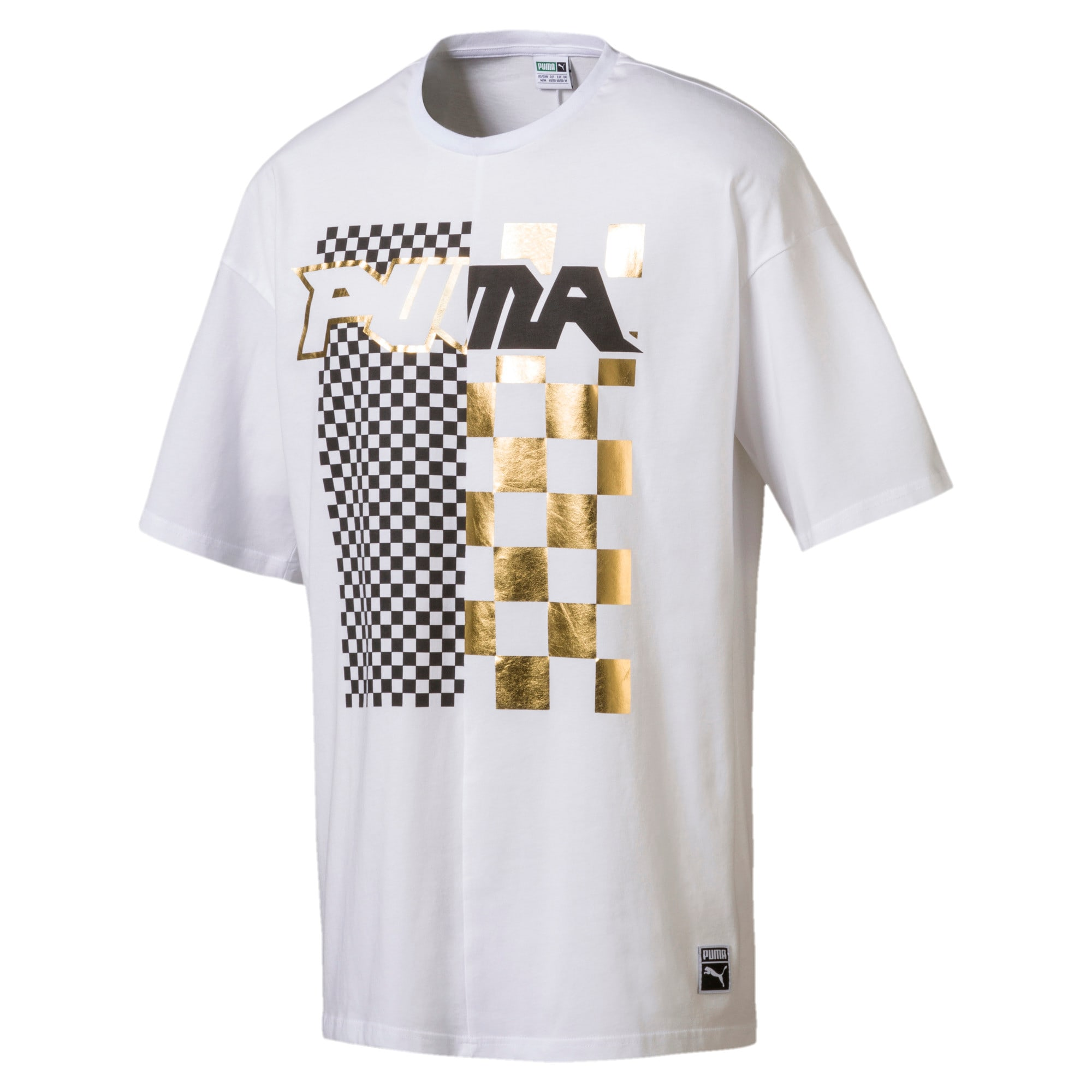 Thumbnail 1 of Dirt Bikes Men's T-Shirt, Puma White, medium