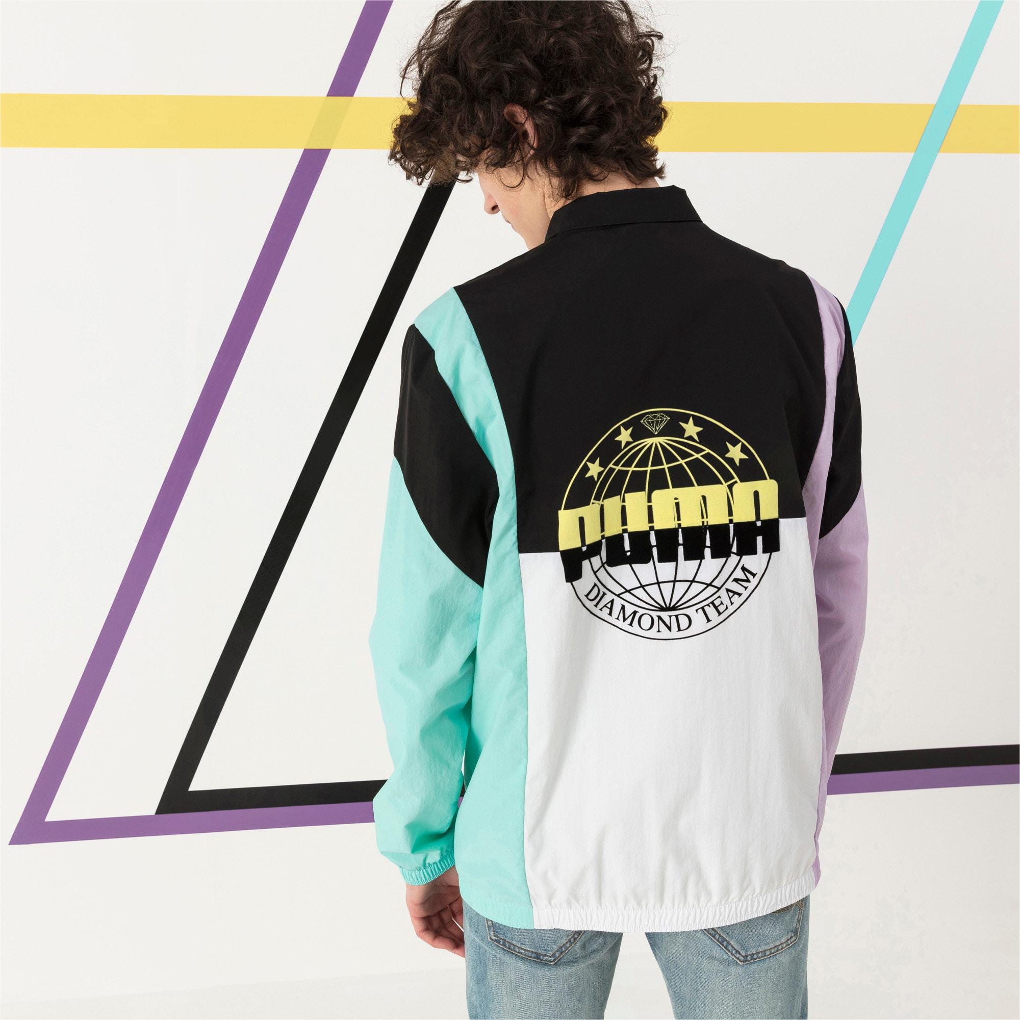 Thumbnail 3 of PUMA x DIAMOND Savannah Track Jacket, Puma Black, medium