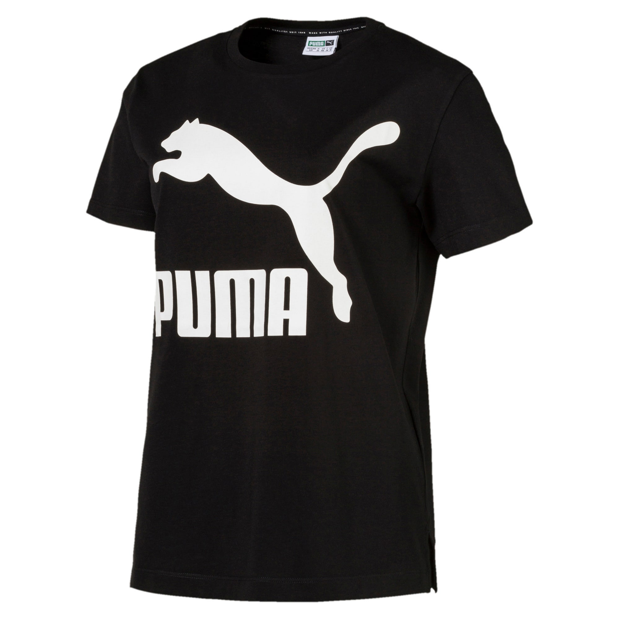 Thumbnail 1 of Classics Logo Women's T-Shirt, Cotton Black, medium