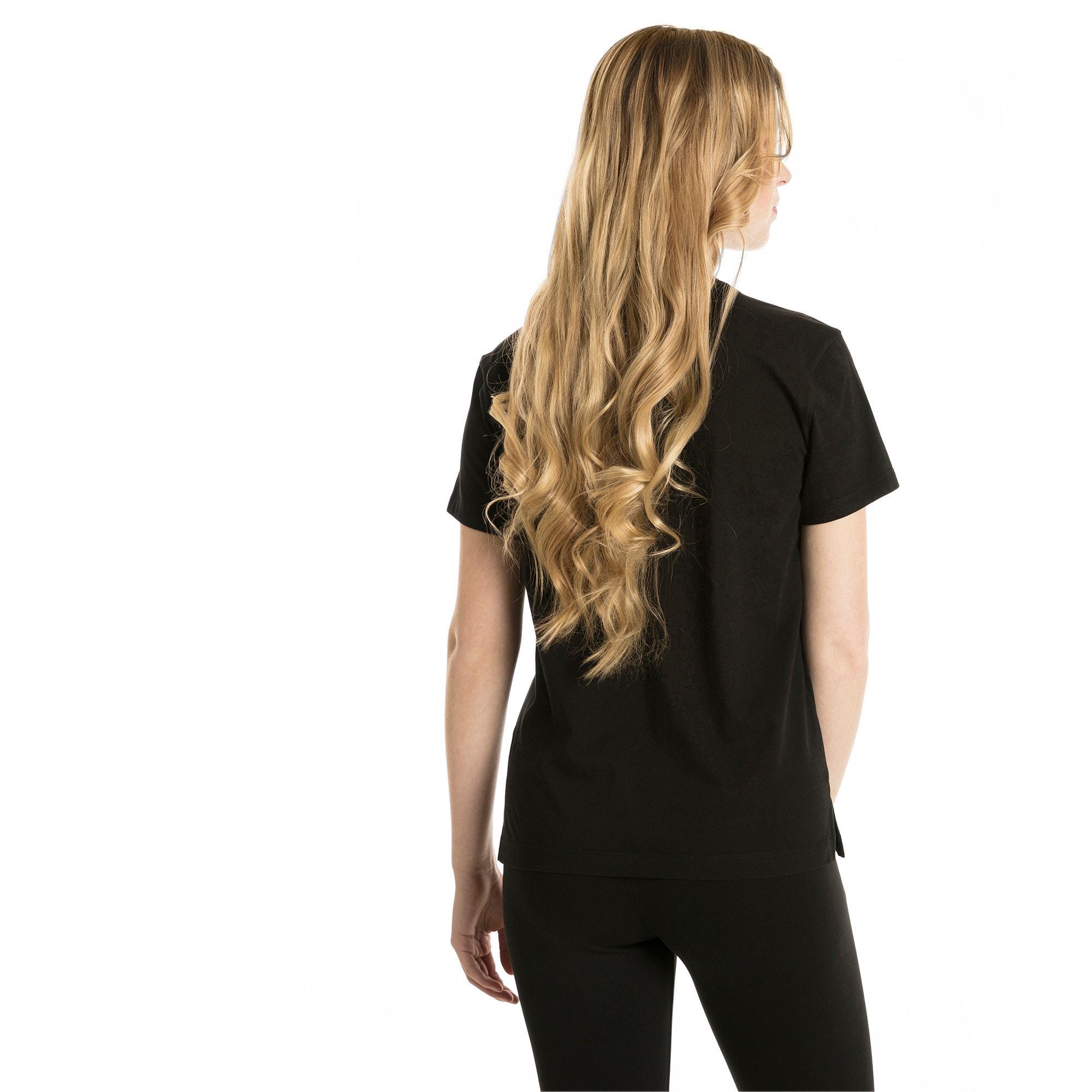 Thumbnail 3 of Classics Logo Women's T-Shirt, Cotton Black, medium