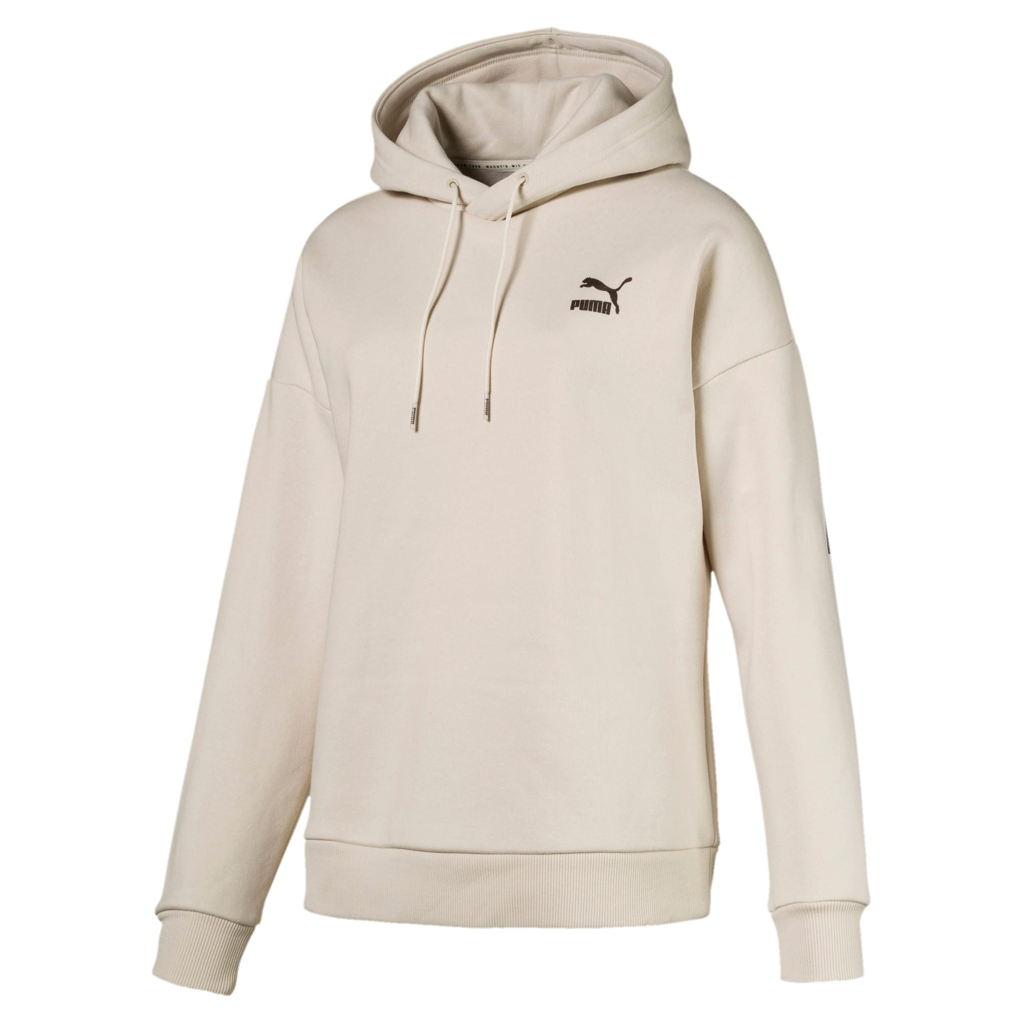 Thumbnail 1 of Retro Women's Hoodie, Birch, medium